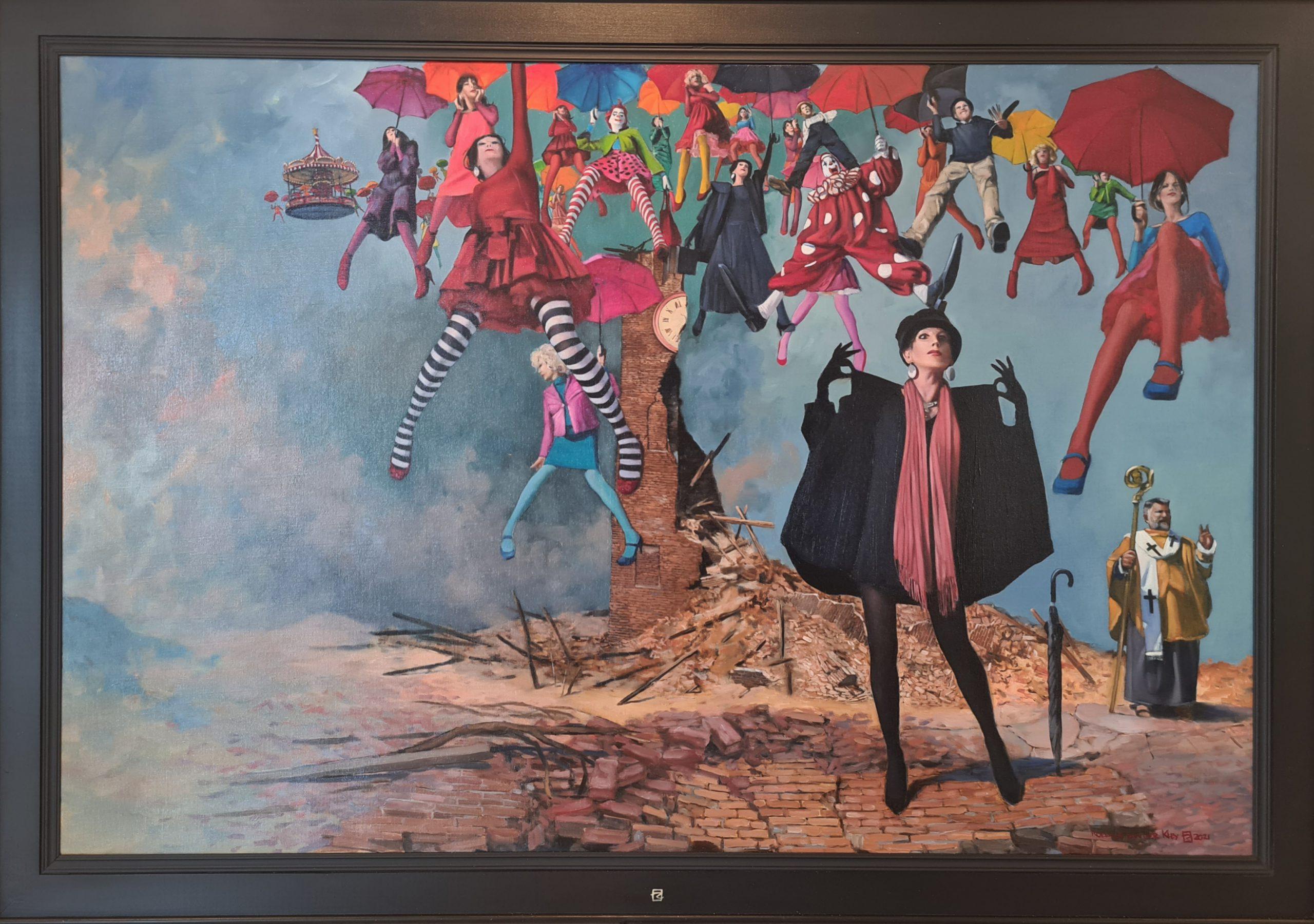 Kunst: Draaipunt van kunstenaar Roeland van der Kley