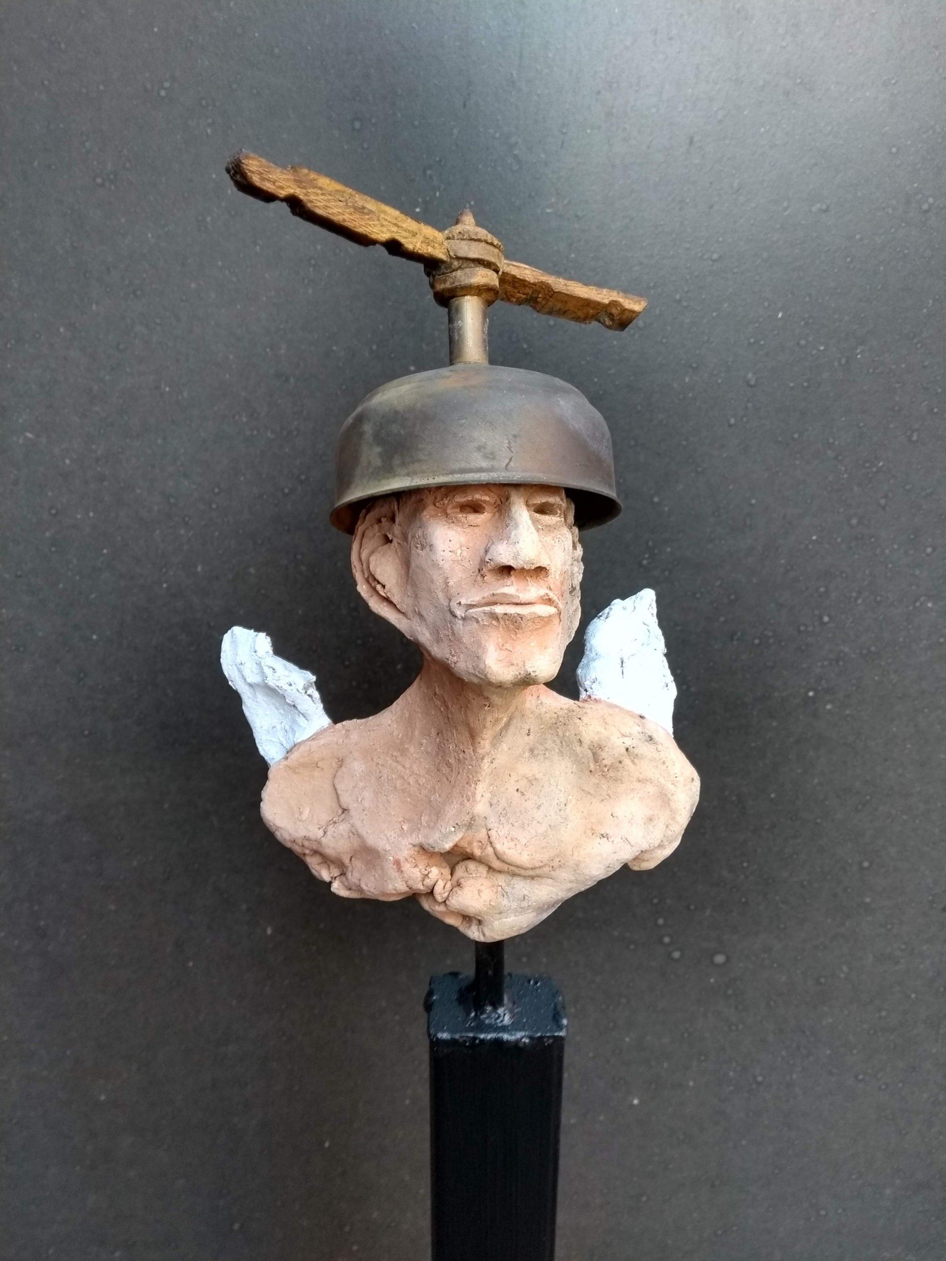 Kunst: Er zwaait wat van kunstenaar Jan Verschueren