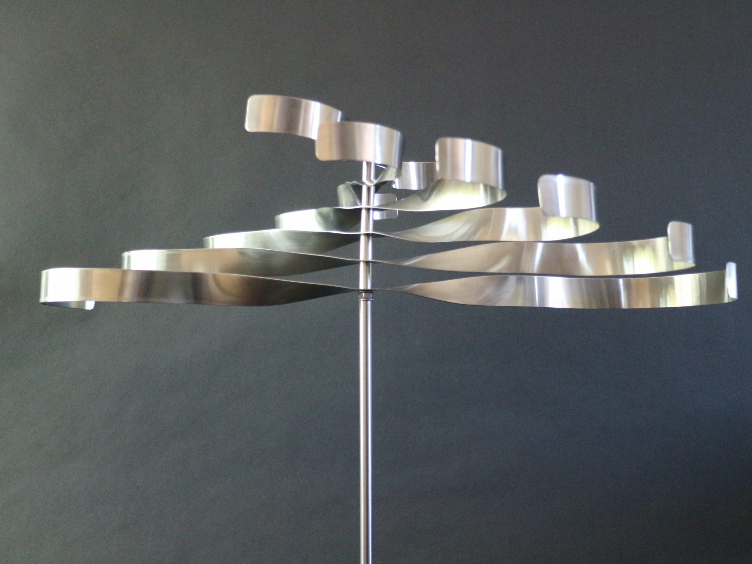 Kunst: Flying-wheel van kunstenaar Bert Verboon