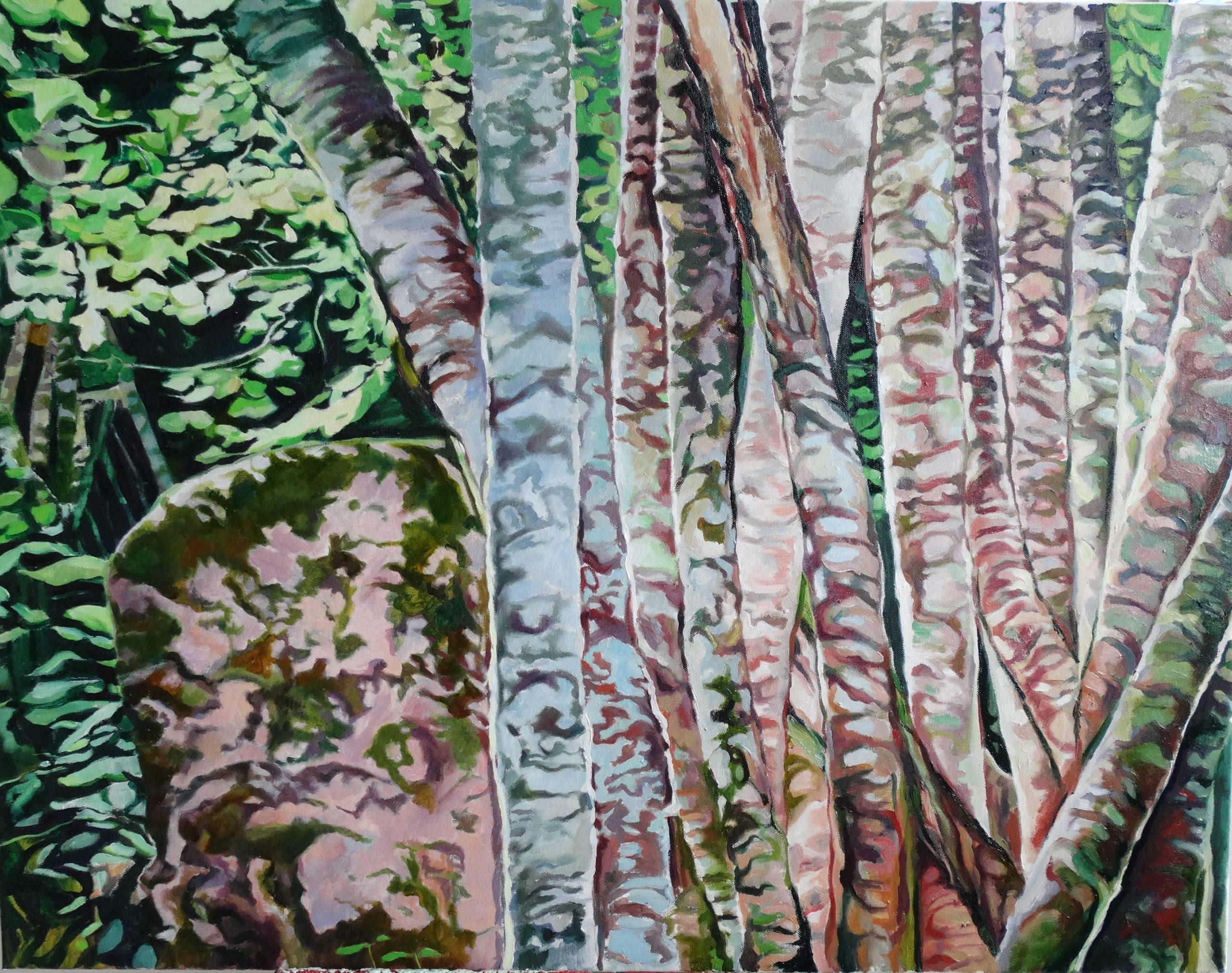 Kunst: Forrest van kunstenaar Sanneke S.I. Griepink