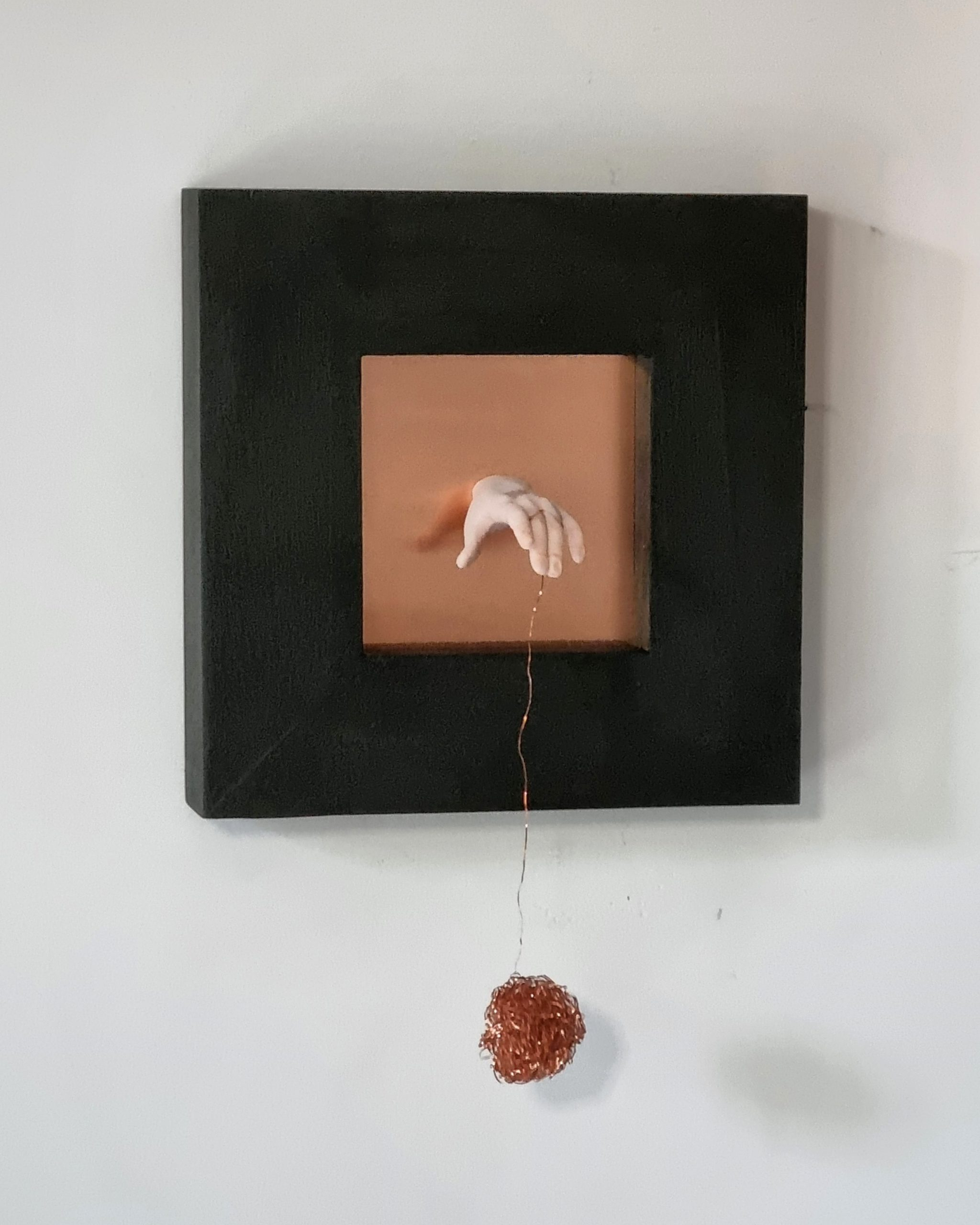 Kunst: Hersenspinsel 1 van kunstenaar Saskia Hoeboer