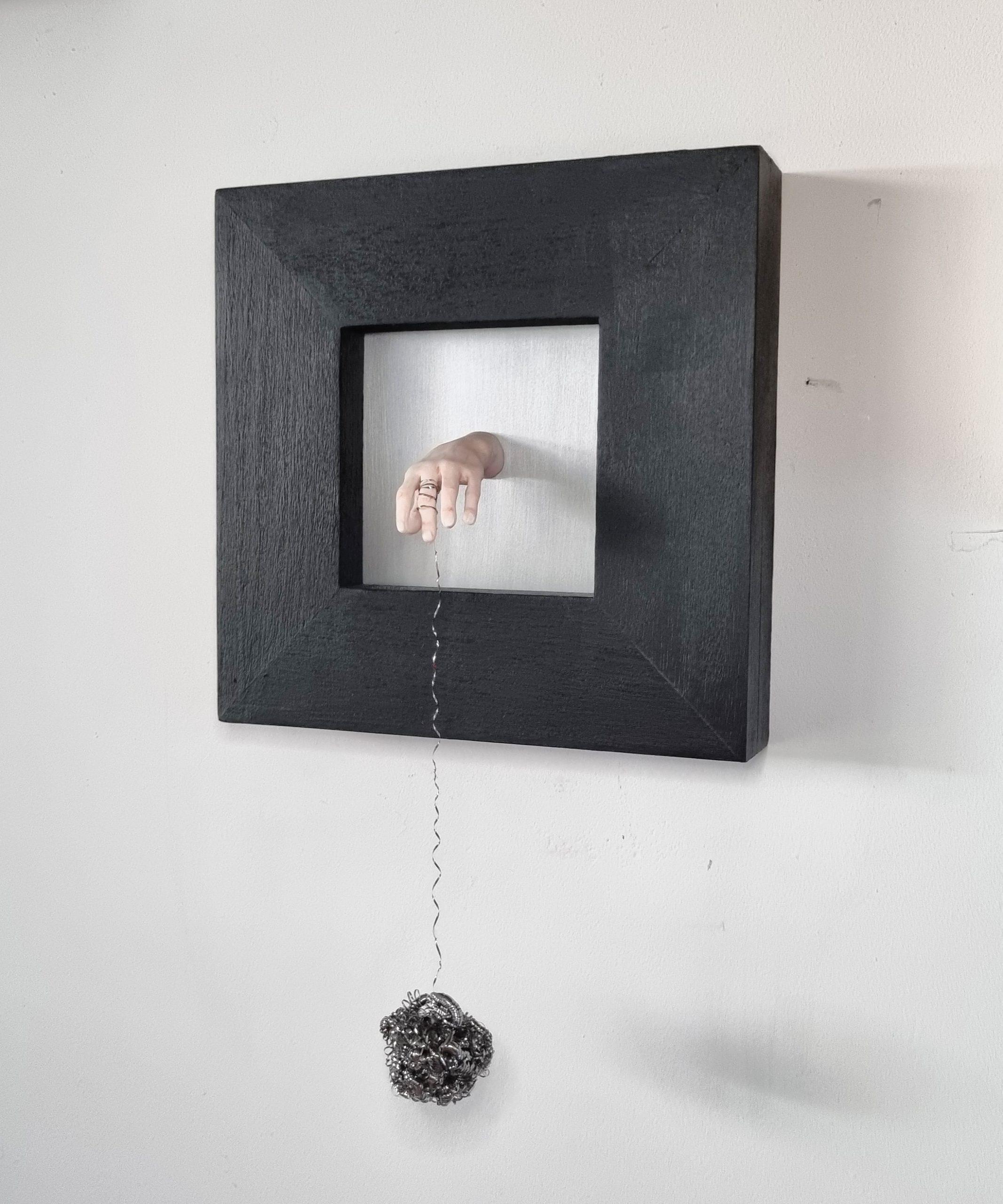 Kunst: Hersenspinsel2 van kunstenaar Saskia Hoeboer