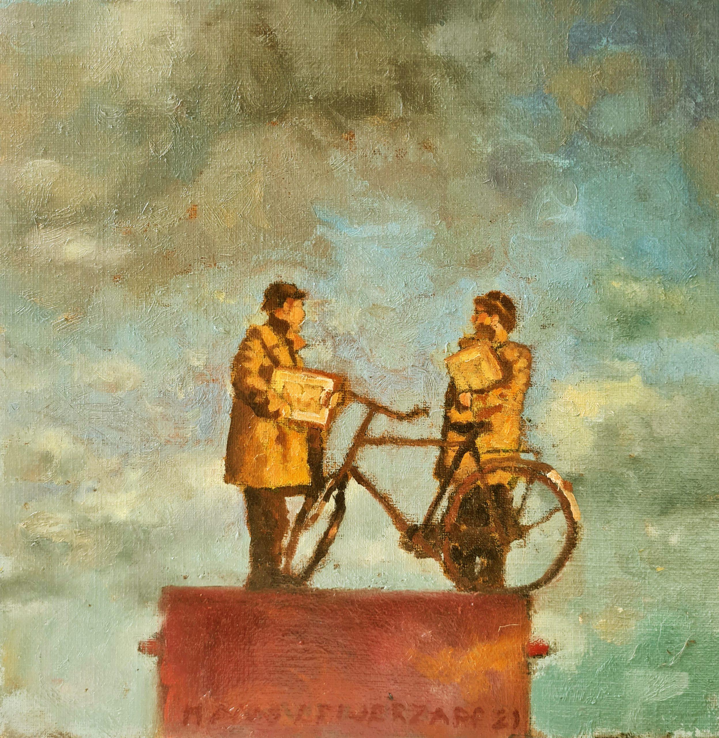 Kunst: Het is heel mooi hier I van kunstenaar Hans Leijerzapf