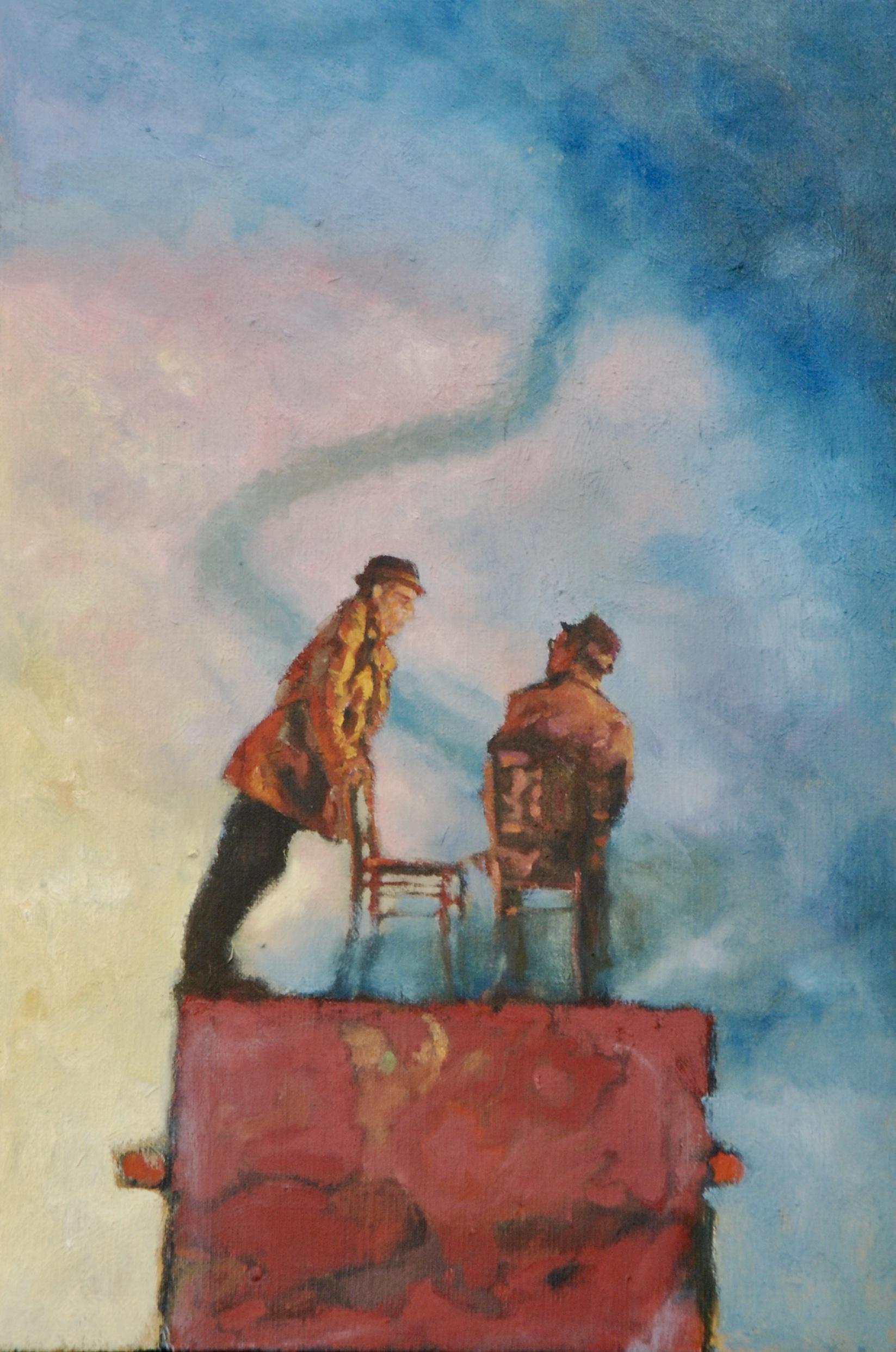 Kunst: Tijd om op te stappen van kunstenaar Hans Leijerzapf