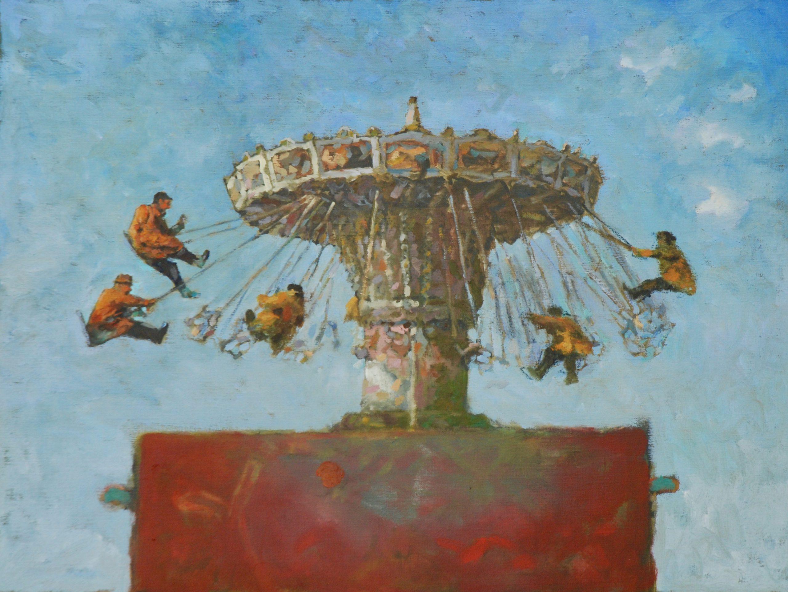 Kunst: Het zweefmoment van kunstenaar Hans Leijerzapf