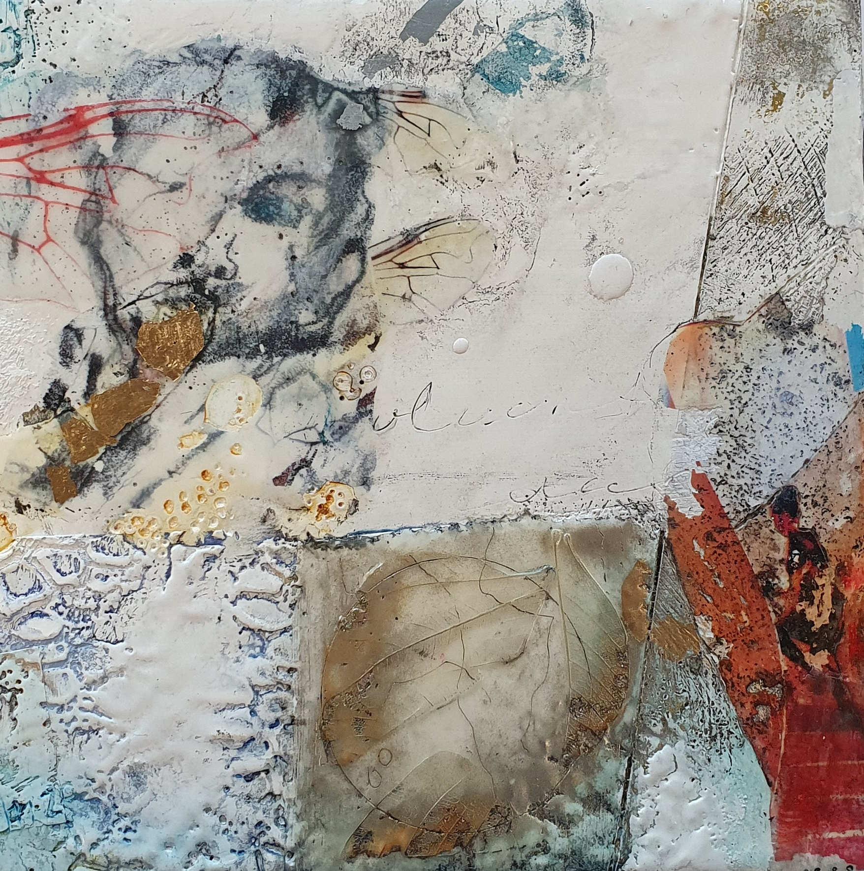 Kunst: If I had wings (Thema expositie Draai) van kunstenaar Trijnie Mohlmann