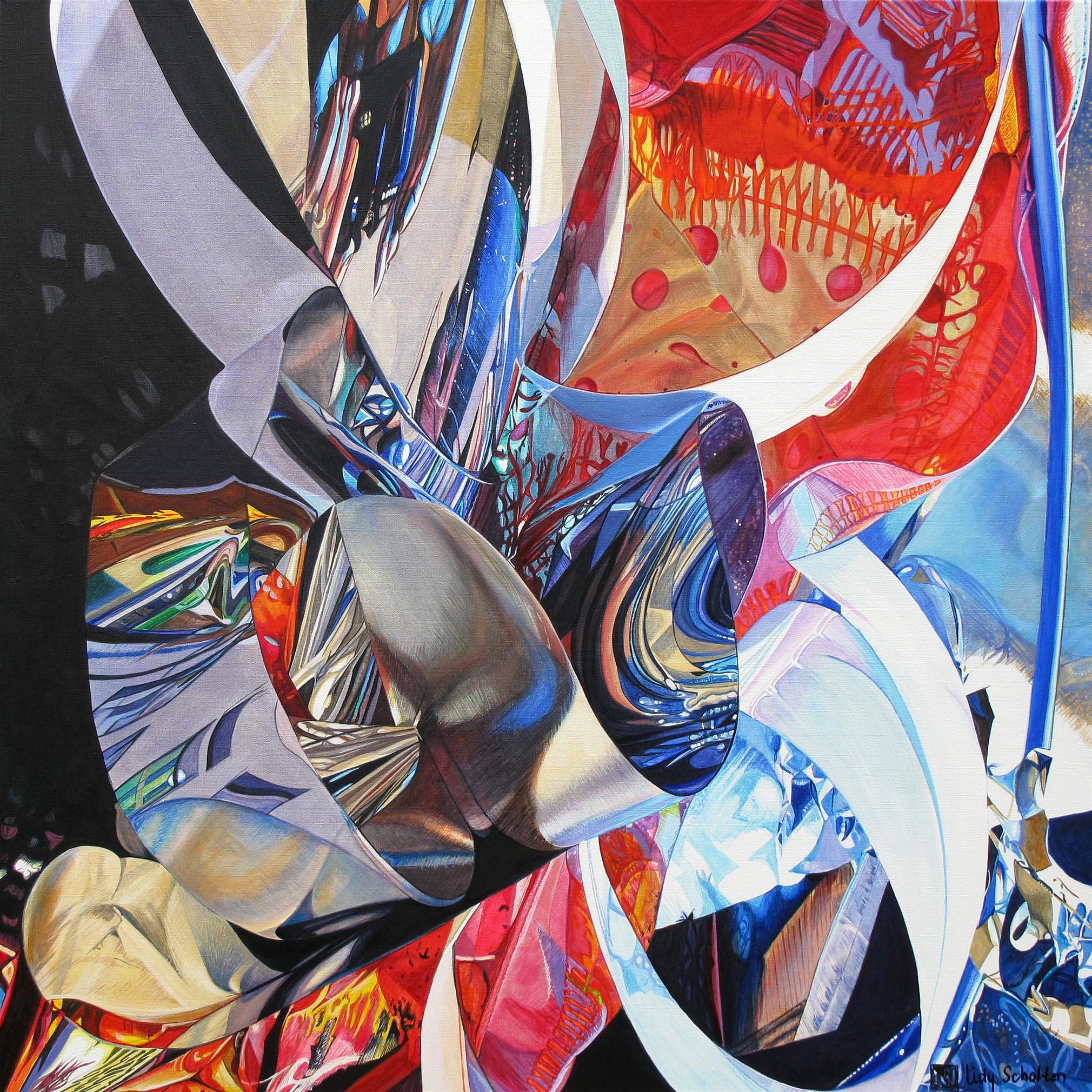 Kunst: Incomparable van kunstenaar Lidy Scholten