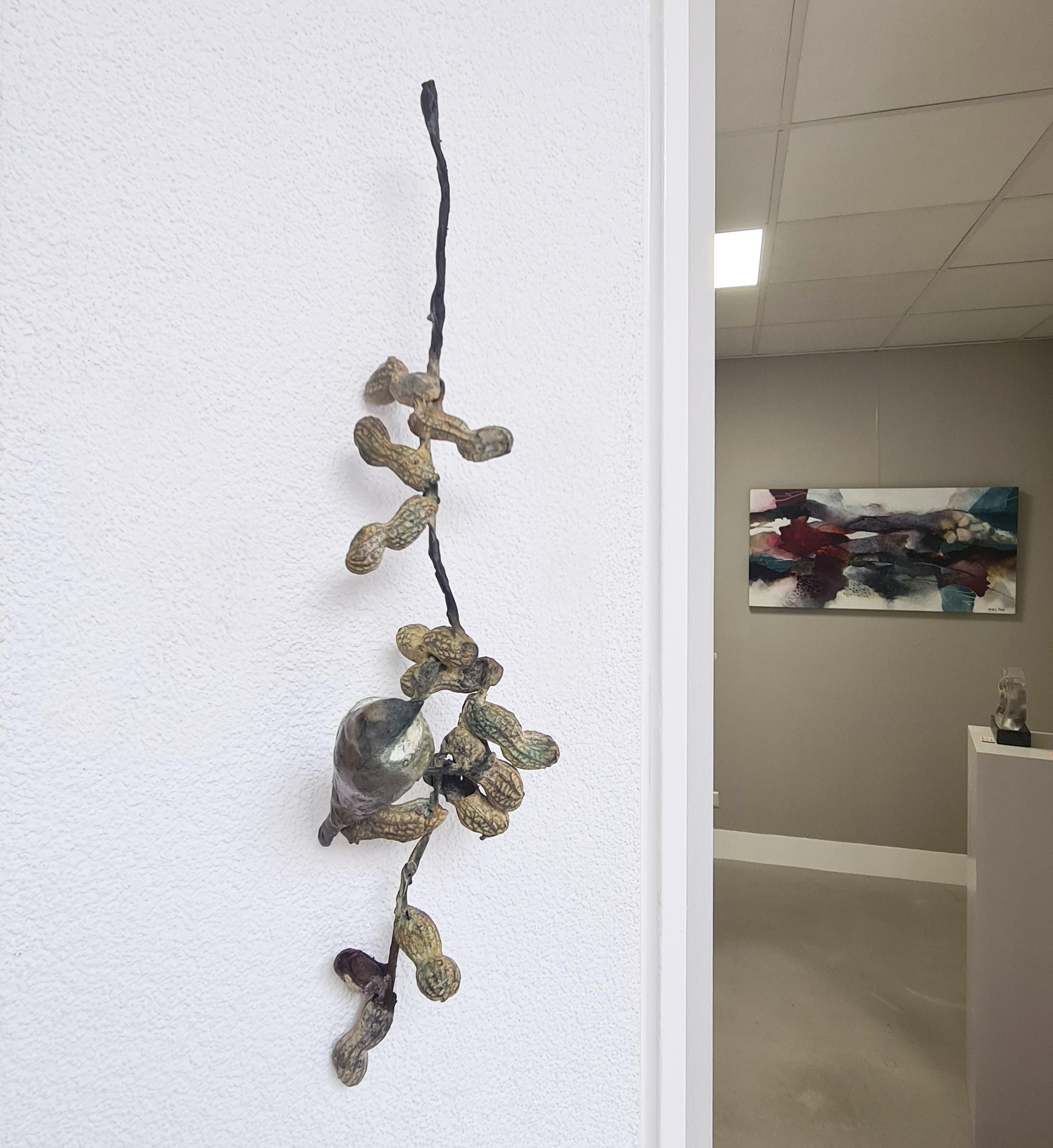 Kunst: Kuifmees aan dopnoten van kunstenaar Chris Gadiot