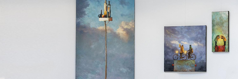 kunstenaar Hans Leijerzapf
