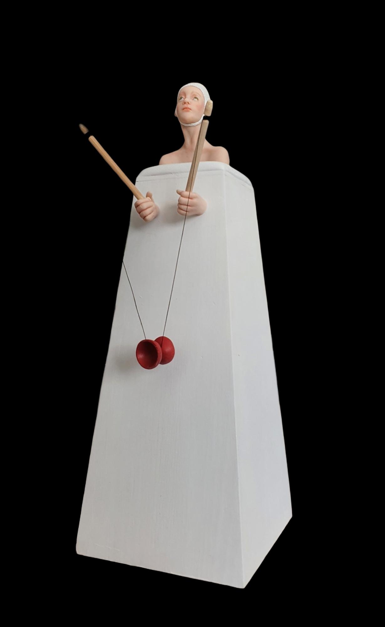 Kunst: Mijn diabolo van kunstenaar Saskia Hoeboer