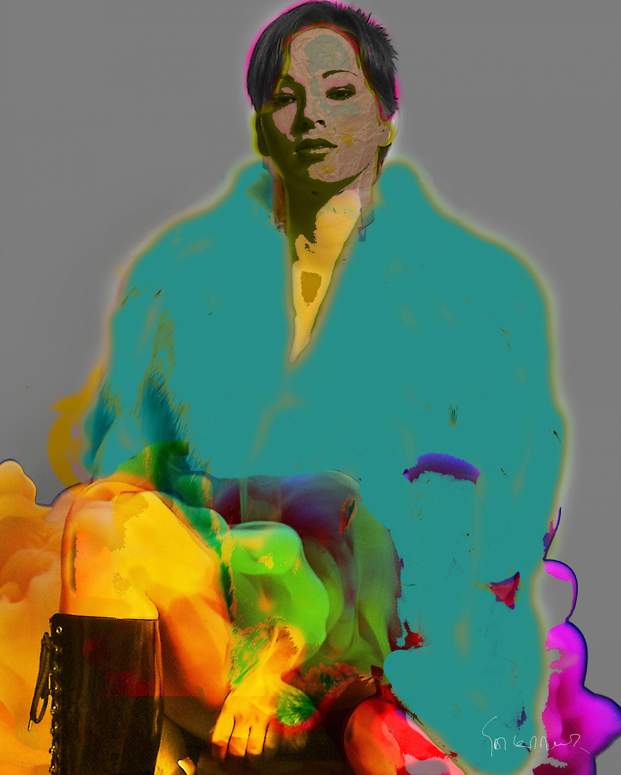 Kunst: Proud Woman van kunstenaar Geert Lemmers