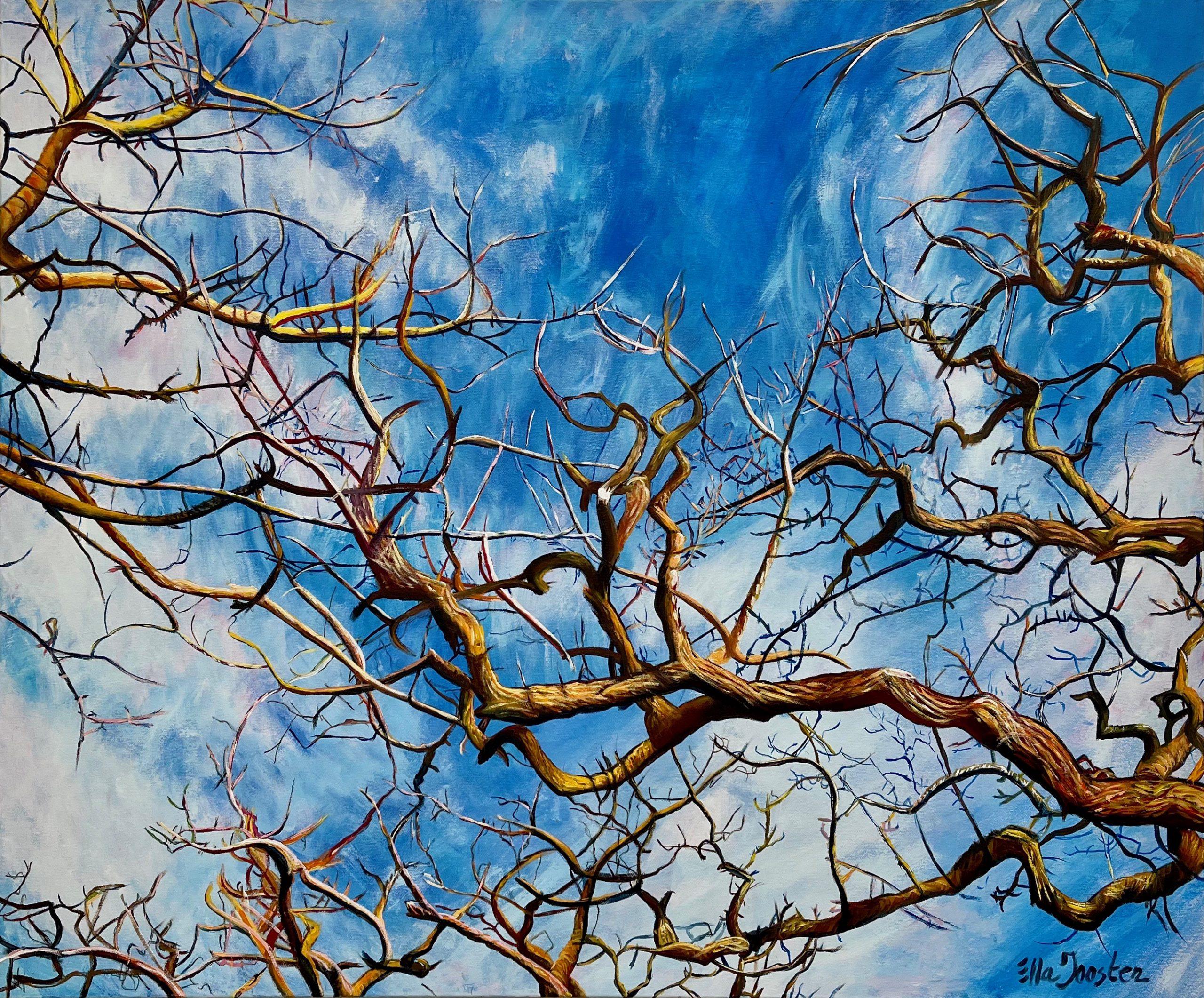 Kunst: Reflection 17 van kunstenaar Ella Joosten