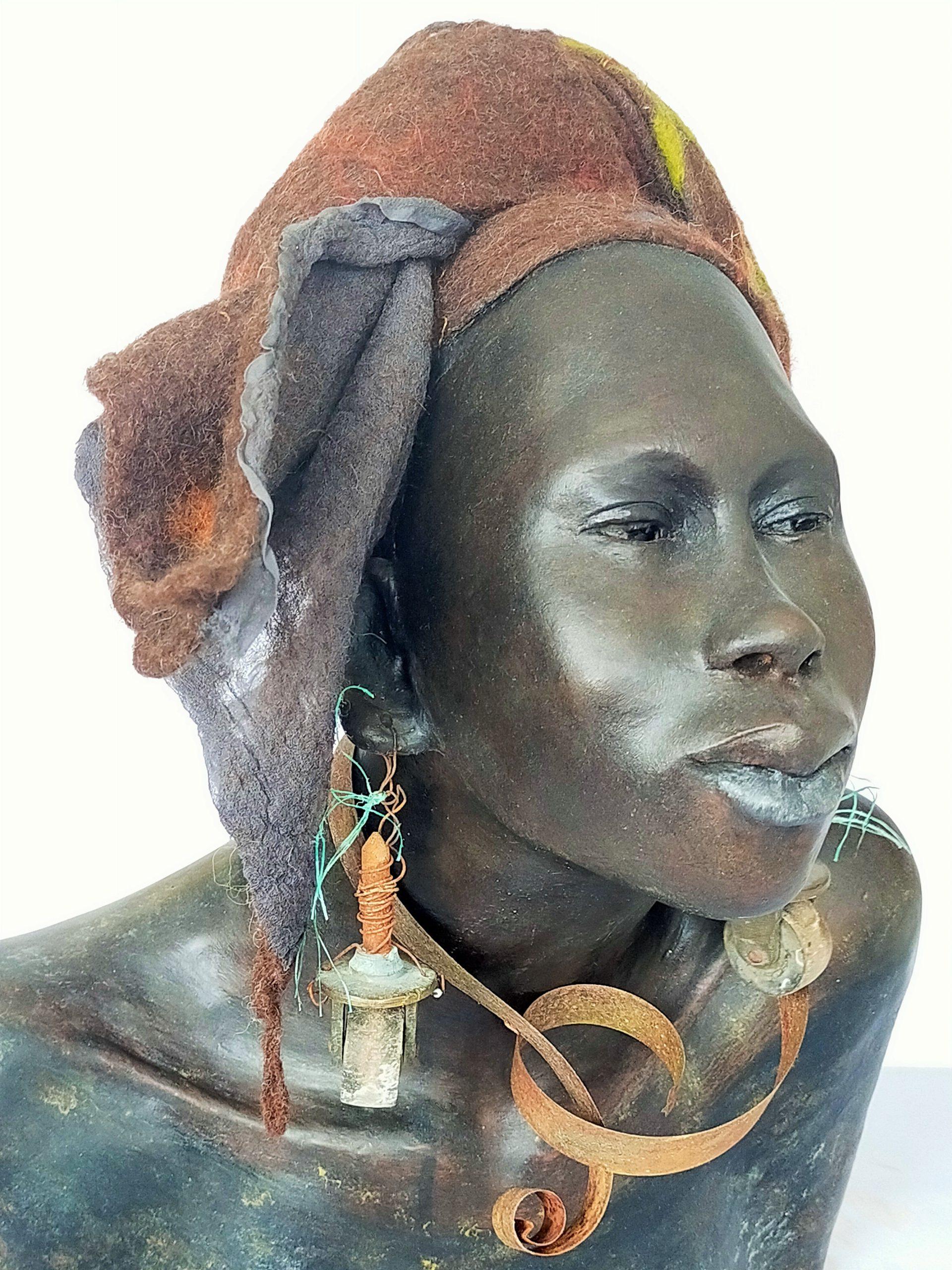 Kunst: Shani – Uitzonderlijk van kunstenaar Lilian Wessels