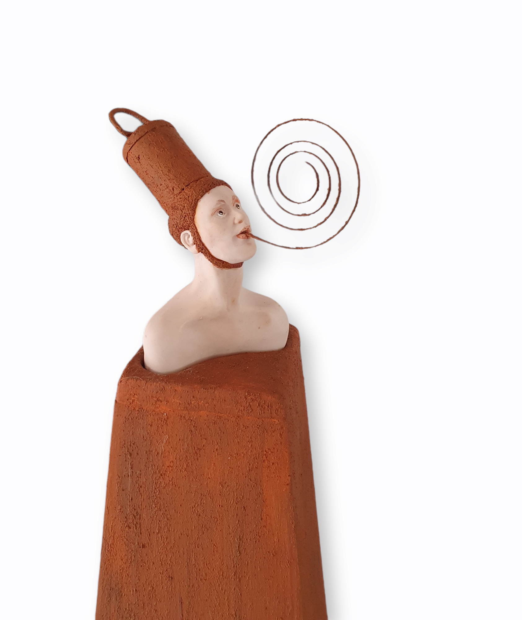 Kunst: Spiraal van kunstenaar Saskia Hoeboer