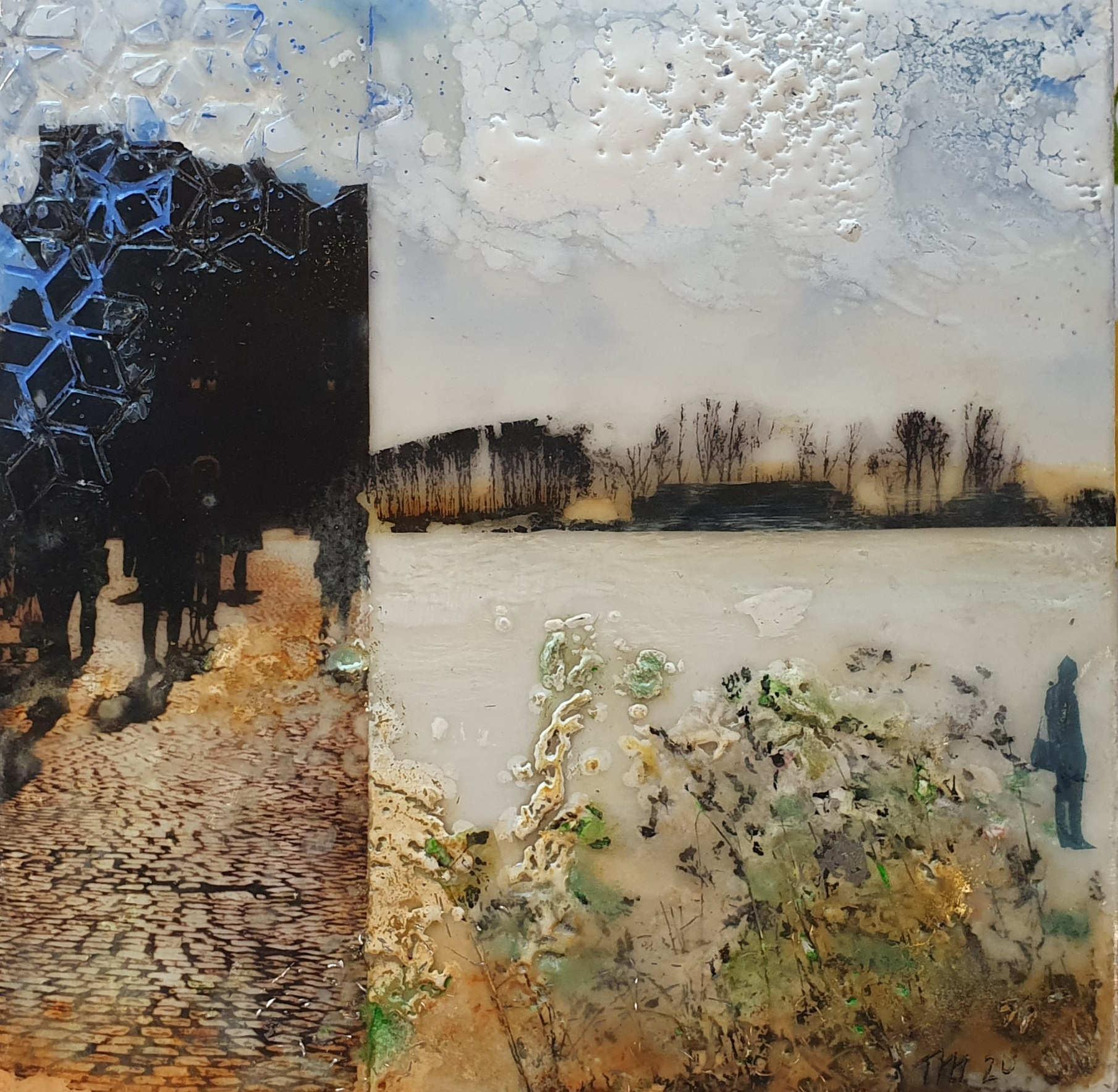 Kunst: Sunny afternoon van kunstenaar Trijnie Mohlmann