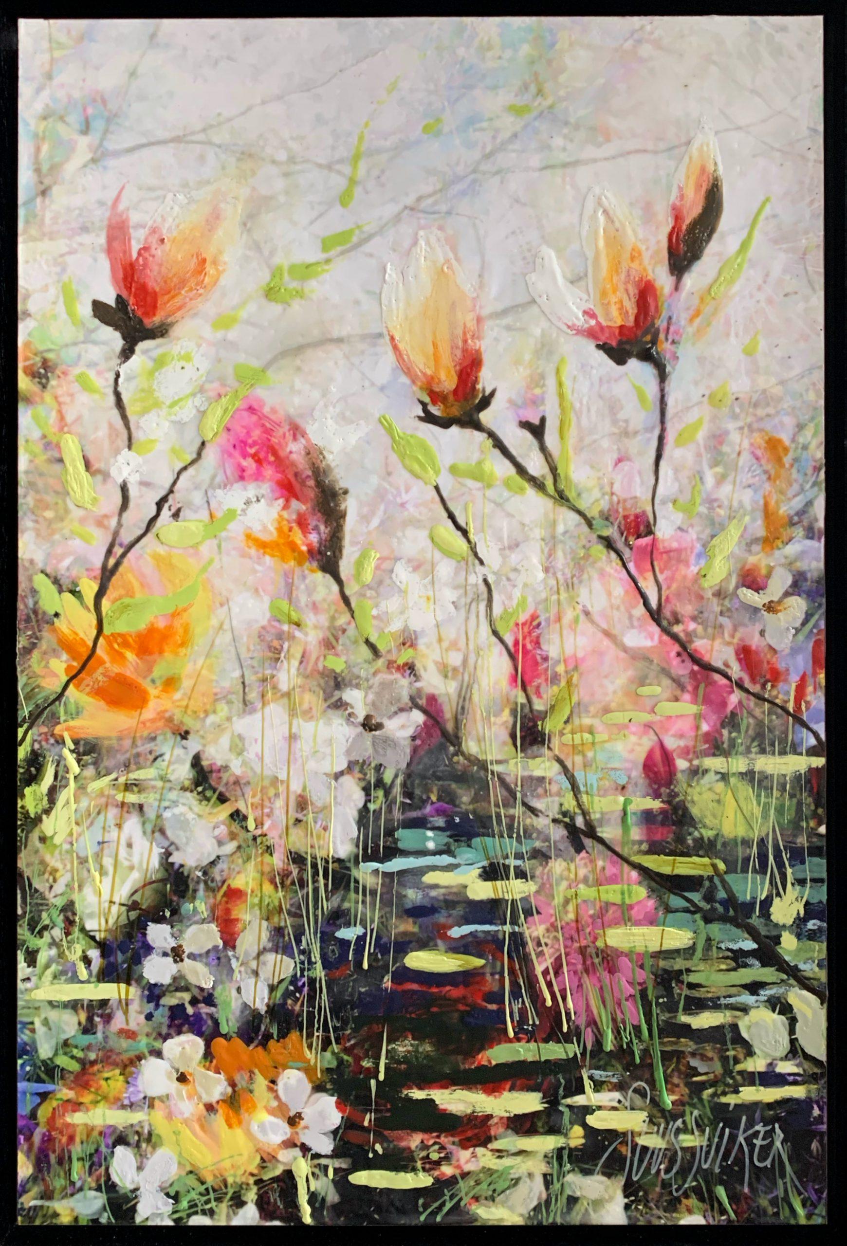 Kunst: Symbiose 40-02 van kunstenaar Suus Suiker