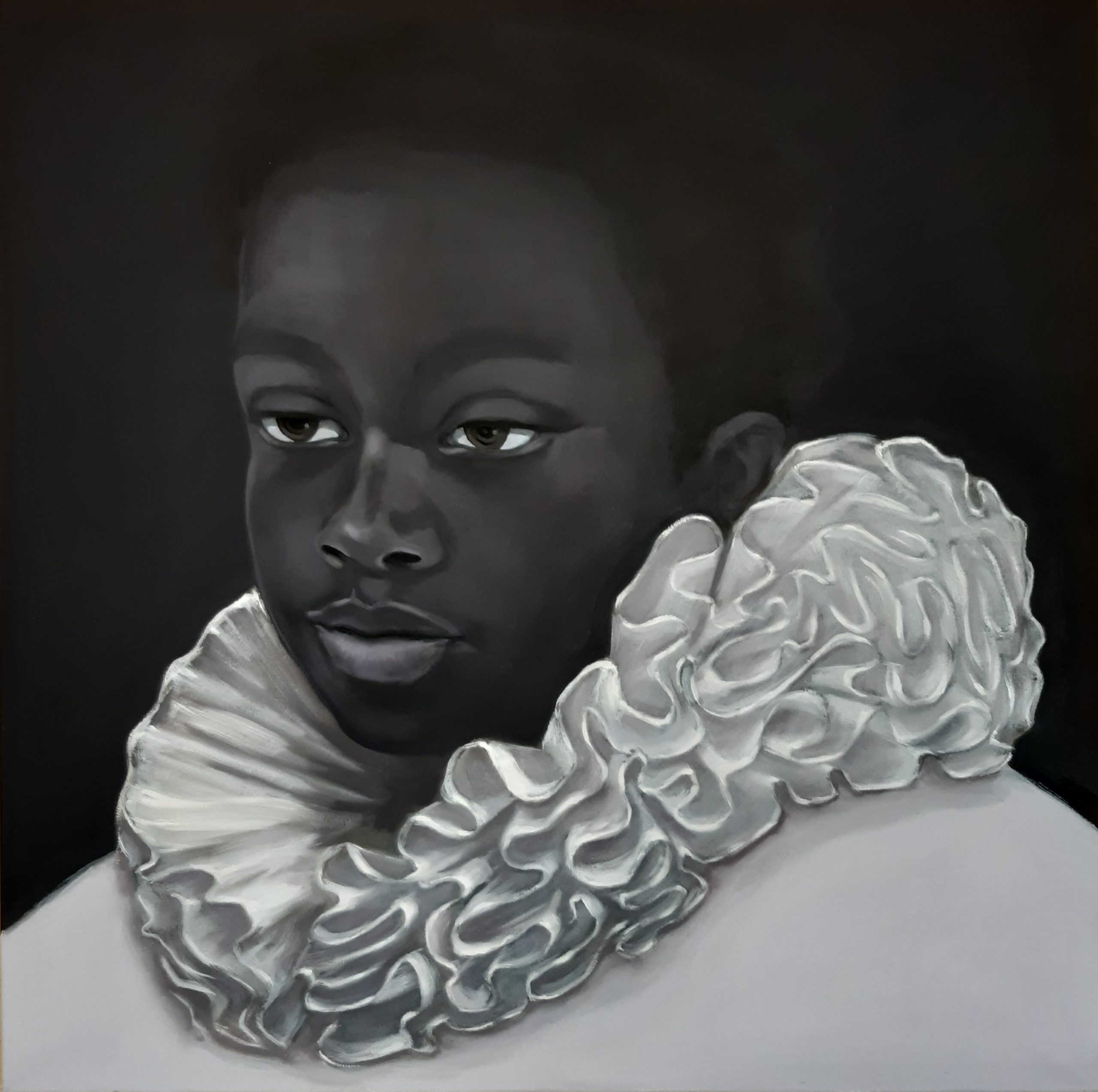 Kunst: Dutch people van kunstenaar Jeanette van Dun