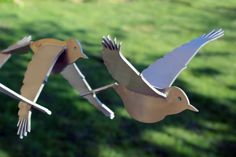 Kunst: Vogelvlucht van kunstenaar Jeroen Stok