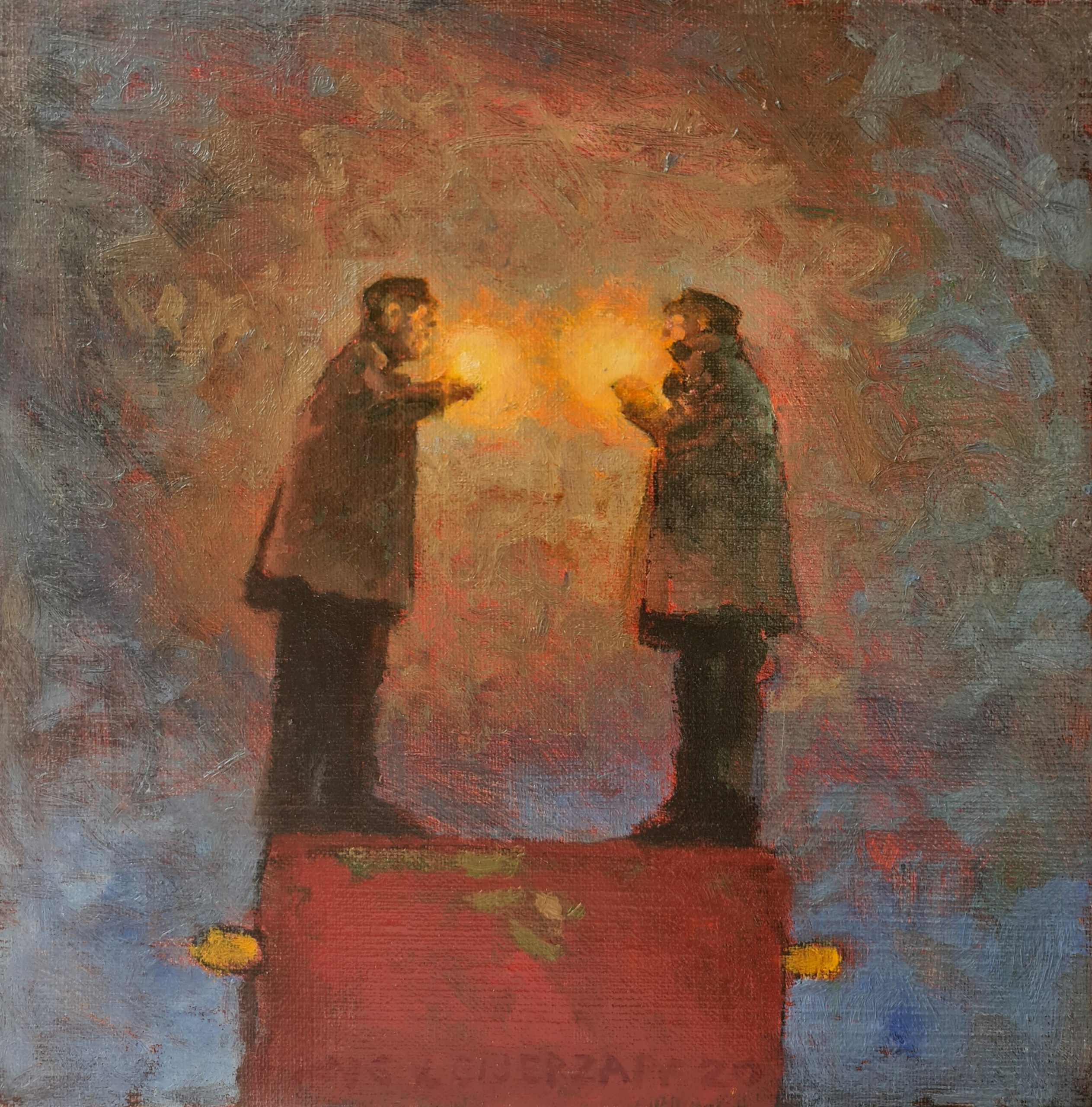 Kunst: Voor het eerst in jaren van kunstenaar Hans Leijerzapf