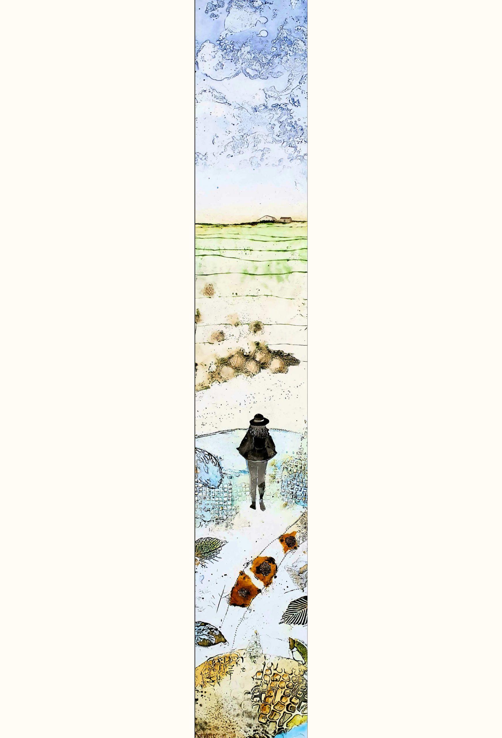 Kunst: Wishing well (thema expositie Draai) van kunstenaar Trijnie Mohlmann