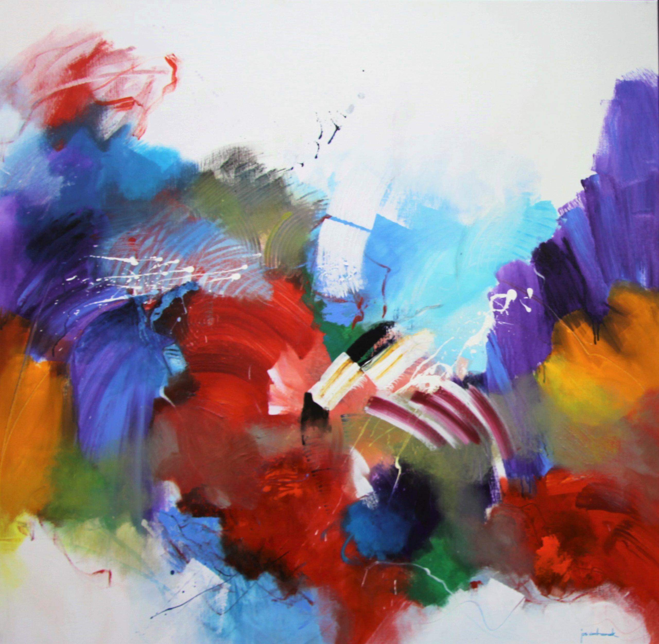 Kunst: 2117 Laatst ging je me voorbij van kunstenaar Jos van Beek