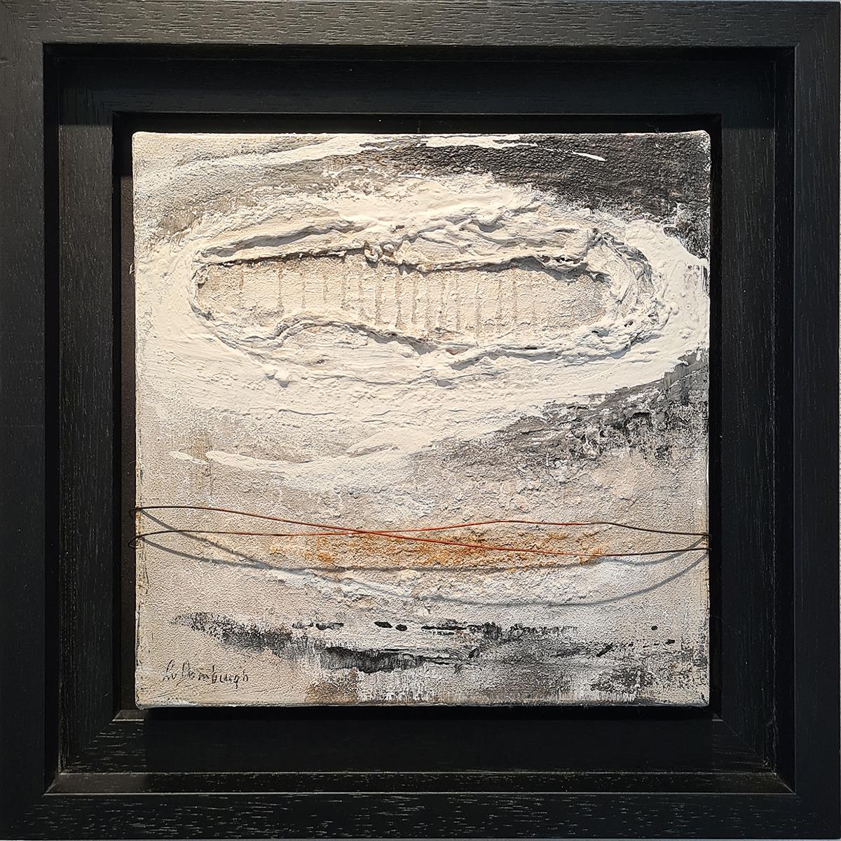 Kunst: Abstract 80-01 van kunstenaar Lydia van Domburgh