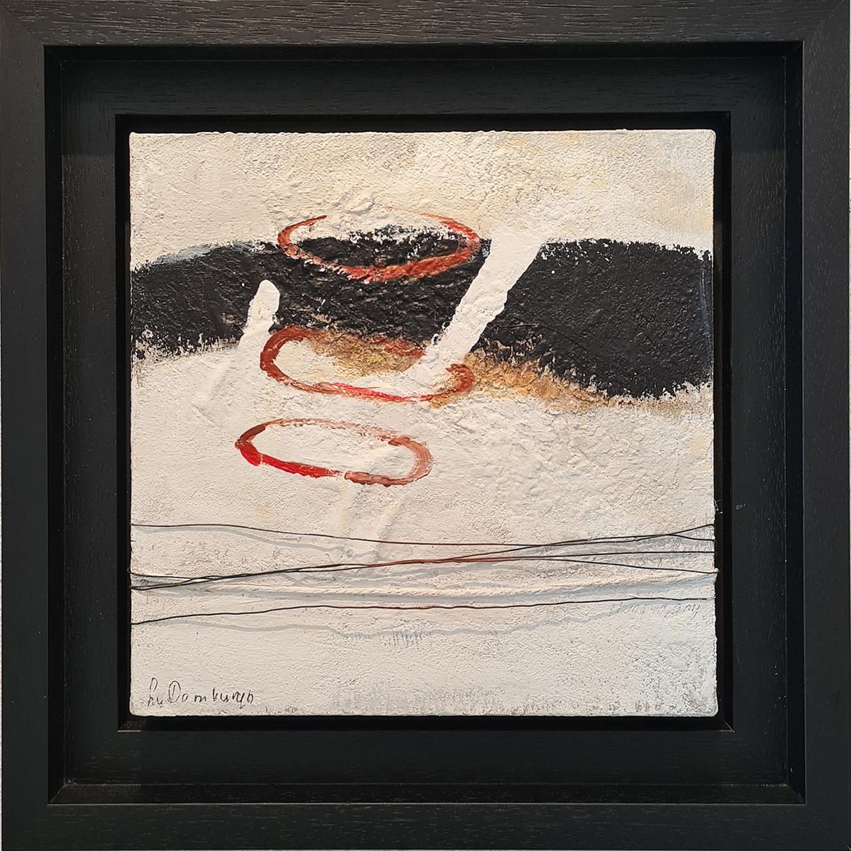 Kunst: Abstract 80-03 van kunstenaar Lydia van Domburgh