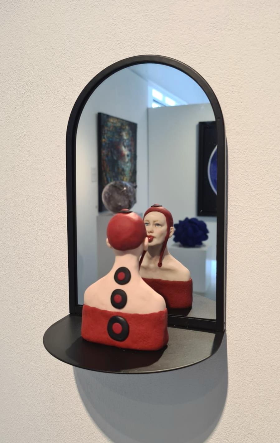 Kunst: Clown van kunstenaar Saskia Hoeboer