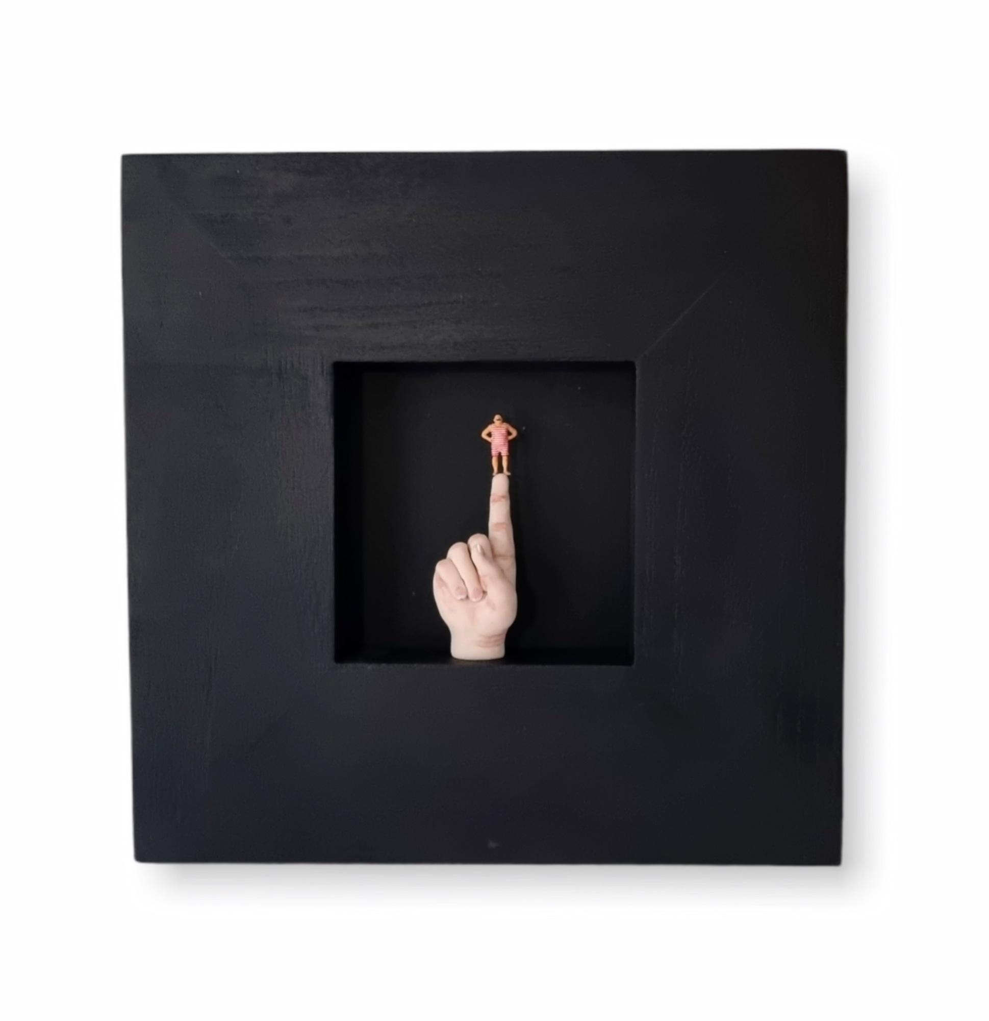 Kunst: Draai er niet omheen ! van kunstenaar Saskia Hoeboer