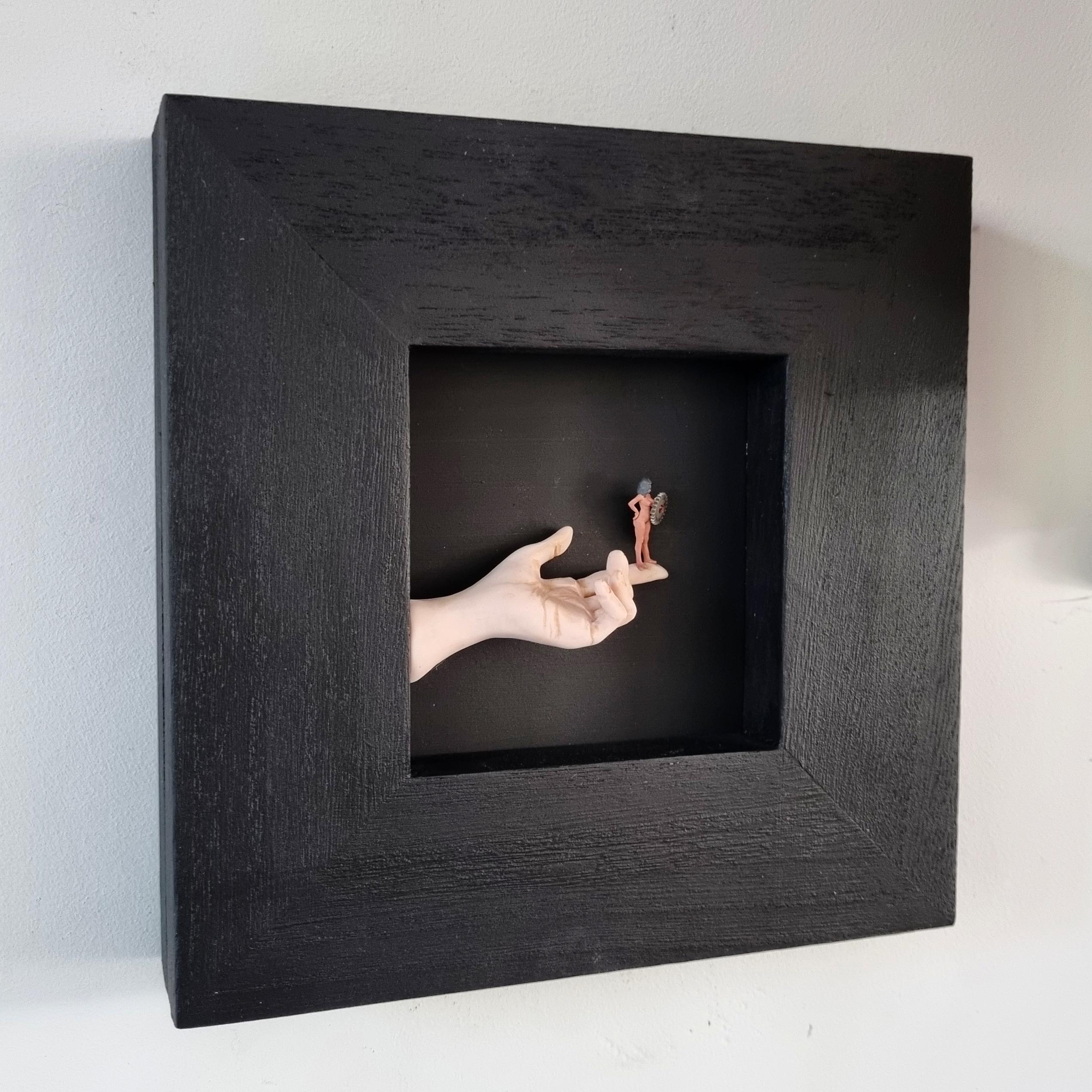 Kunst: Draai het wieletje nog eens om… van kunstenaar Saskia Hoeboer