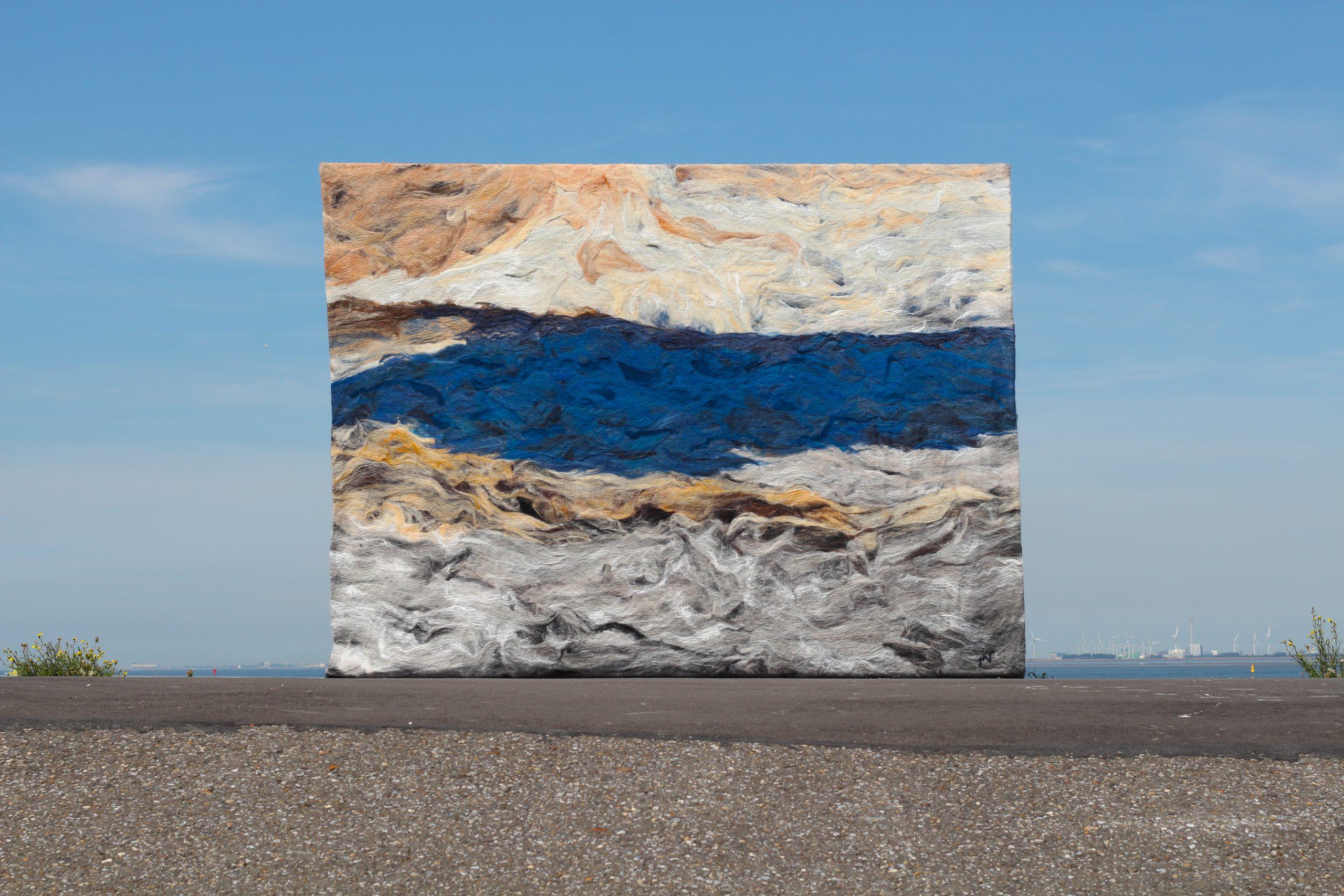 Kunst: Flow van kunstenaar Marian Verdonk