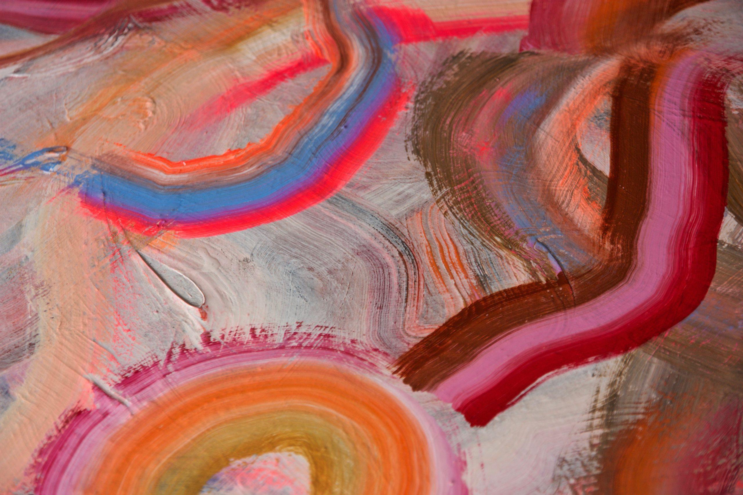 Kunst: Flow of energy van kunstenaar Coby Schot