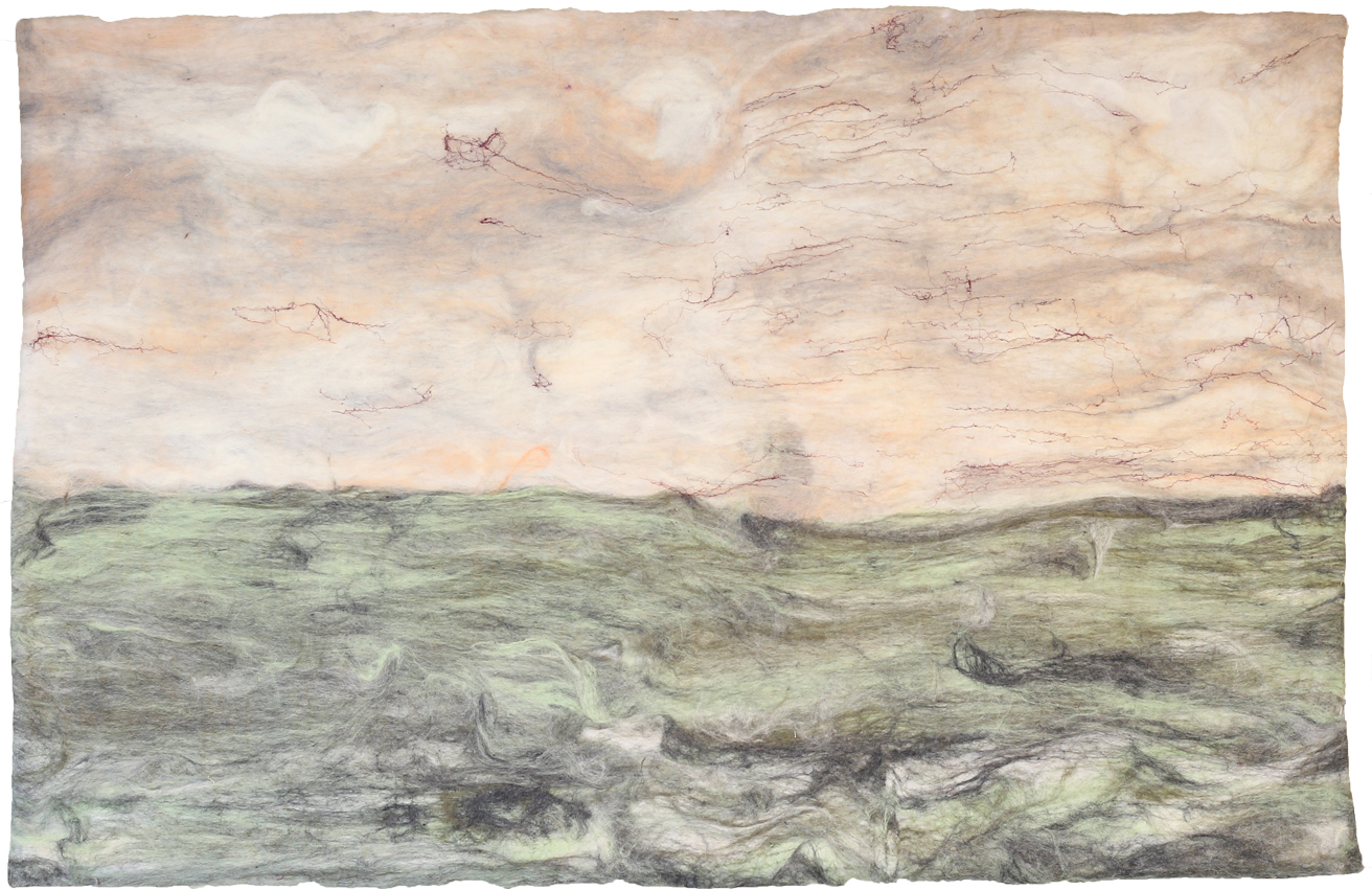 Kunst: Heaven is my Flesh van kunstenaar Marian Verdonk