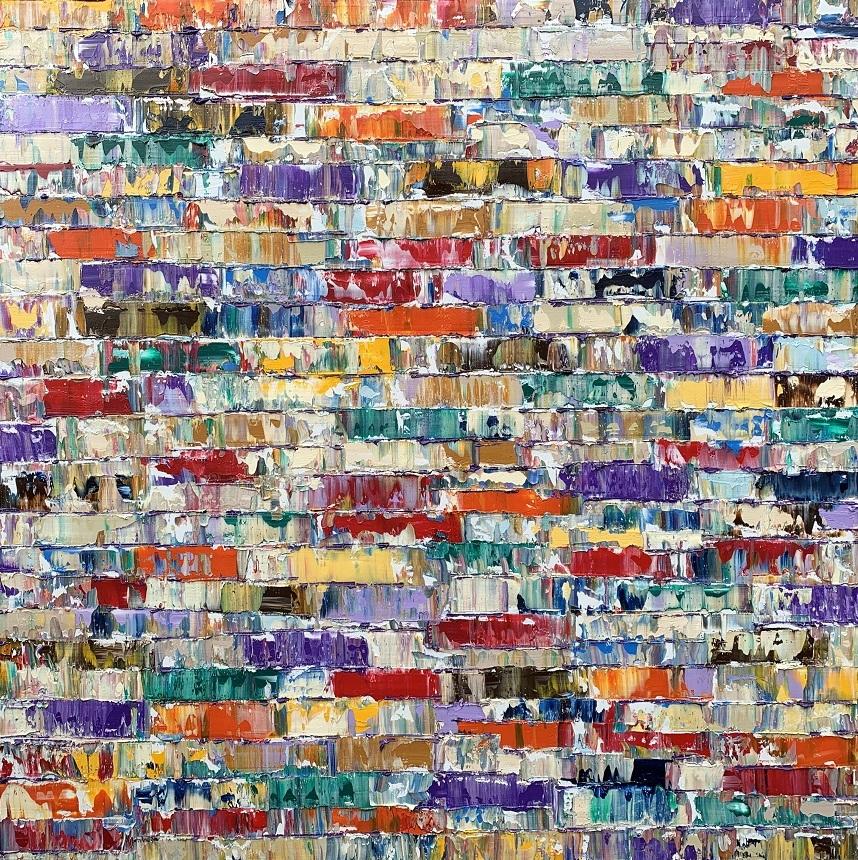 Kunst: Kiribati Pacific van kunstenaar Rinus Hofman