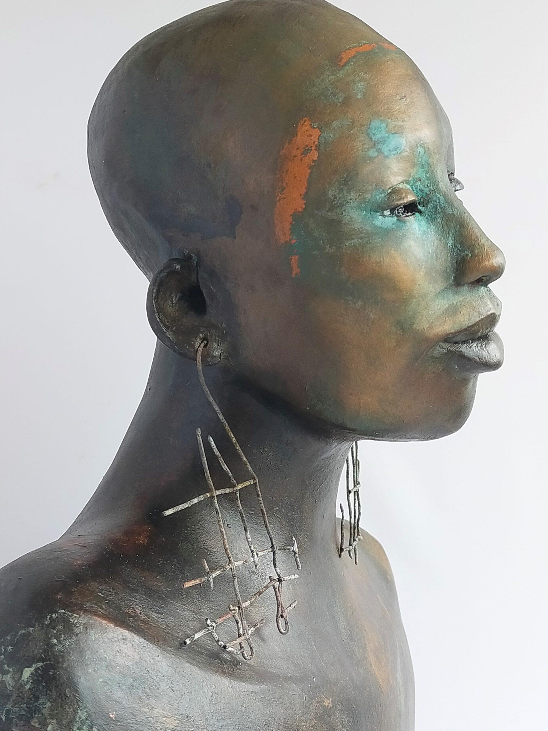 Kunst: Nabulungi – Colors of the wind. van kunstenaar Lilian Wessels