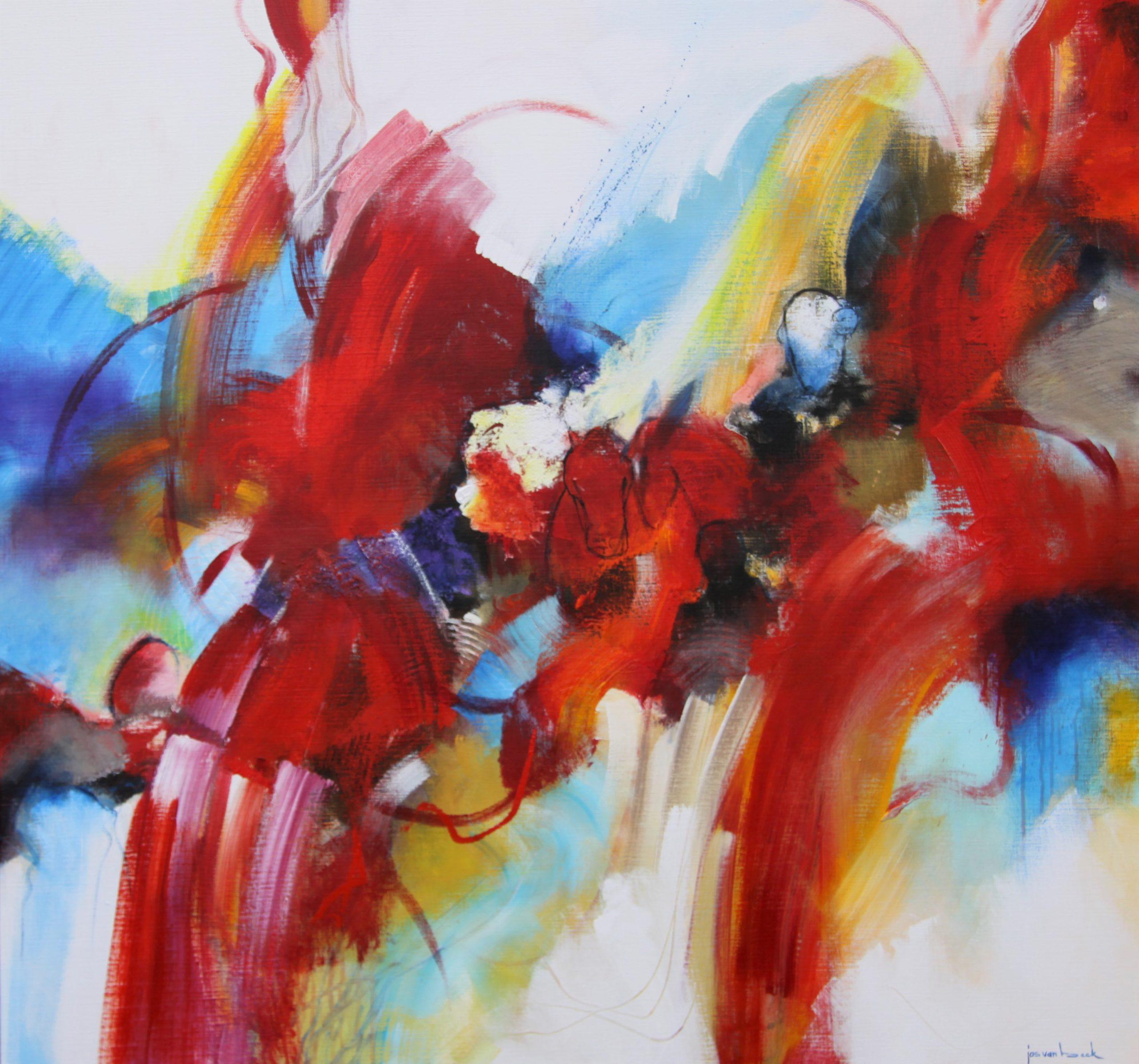 Kunst: Paren van kunstenaar Jos van Beek