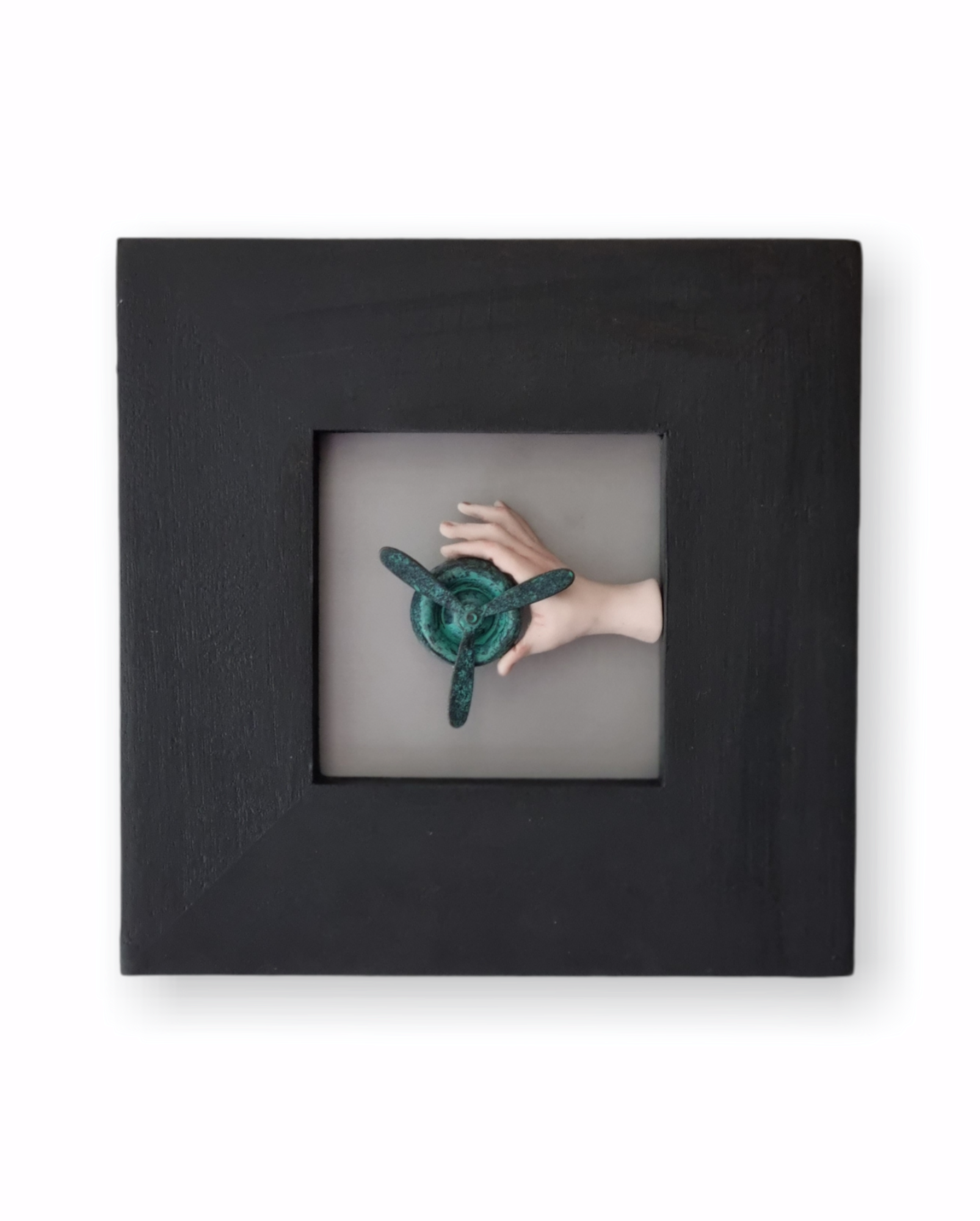 Kunst: Propeller II van kunstenaar Saskia Hoeboer