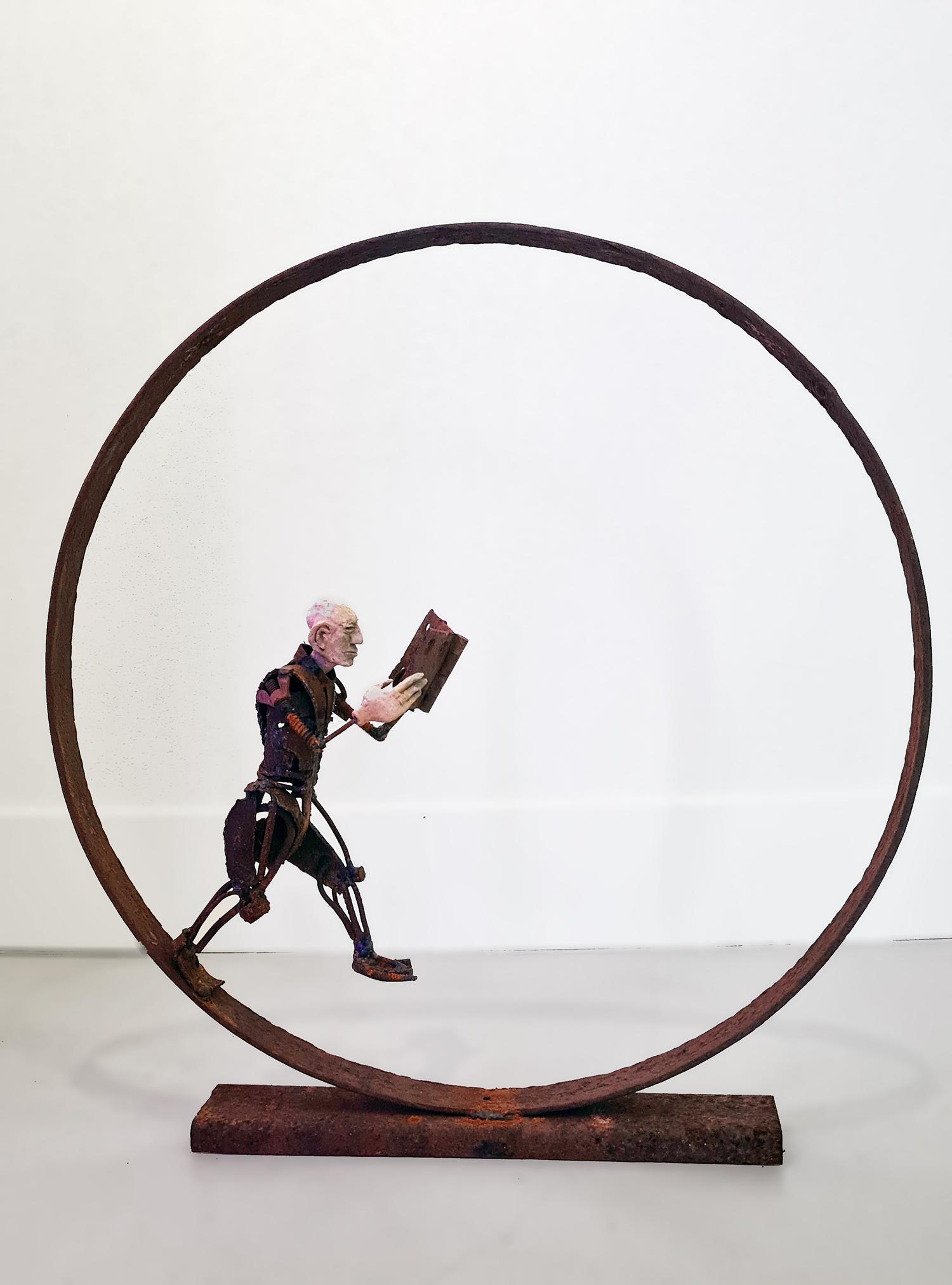 Kunst: Wereldliteratuur van kunstenaar Jan Verschueren