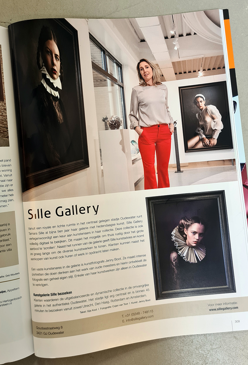 Sfeer Sille Gallery in magazine The Art of Living