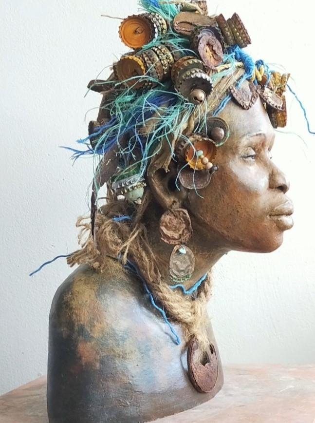 Kunst: Akanka _- Bewondering van kunstenaar Lilian Wessels