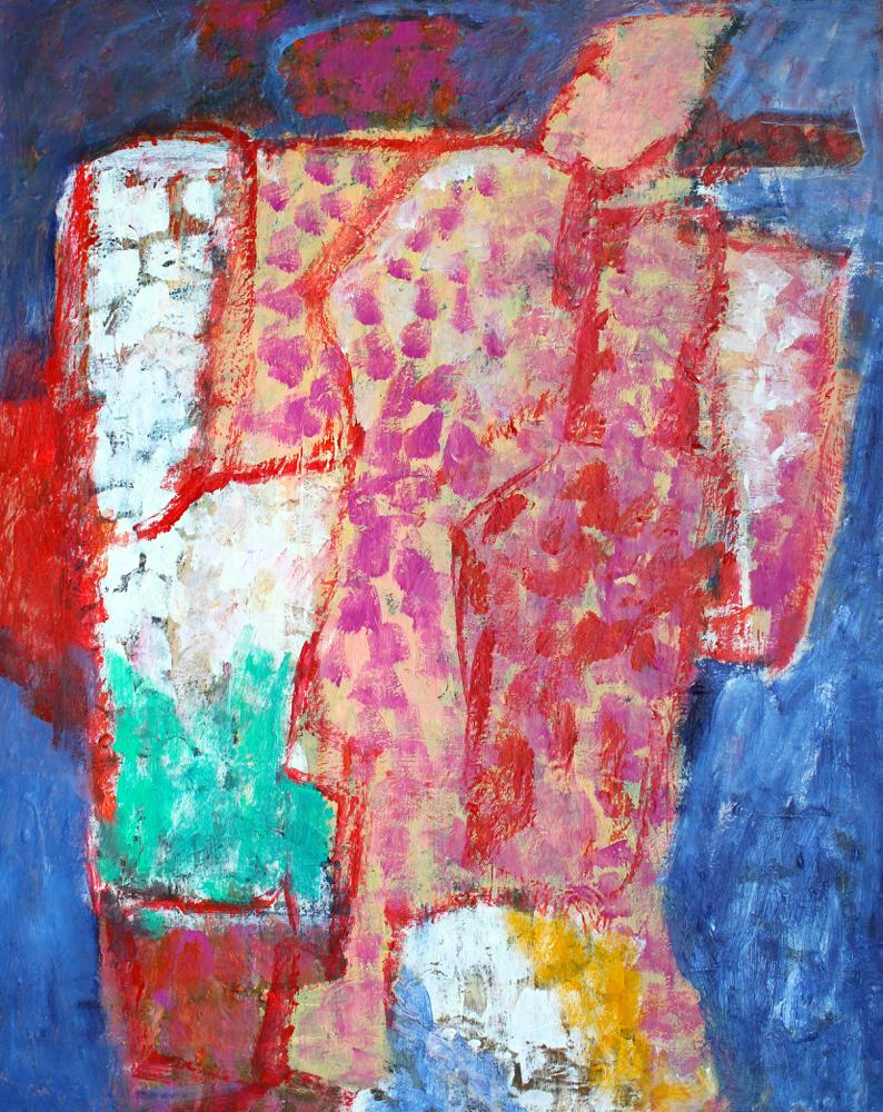 Kunst: Compositie 6129 van kunstenaar Engelina Zandstra