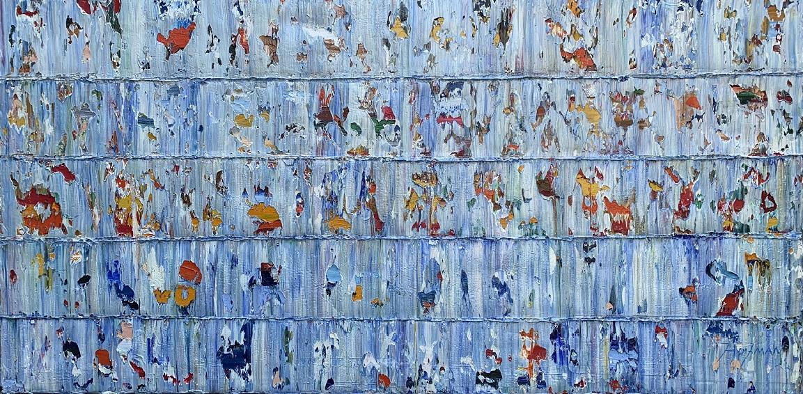 Kunst: Marakei, Pacific. van kunstenaar Rinus Hofman