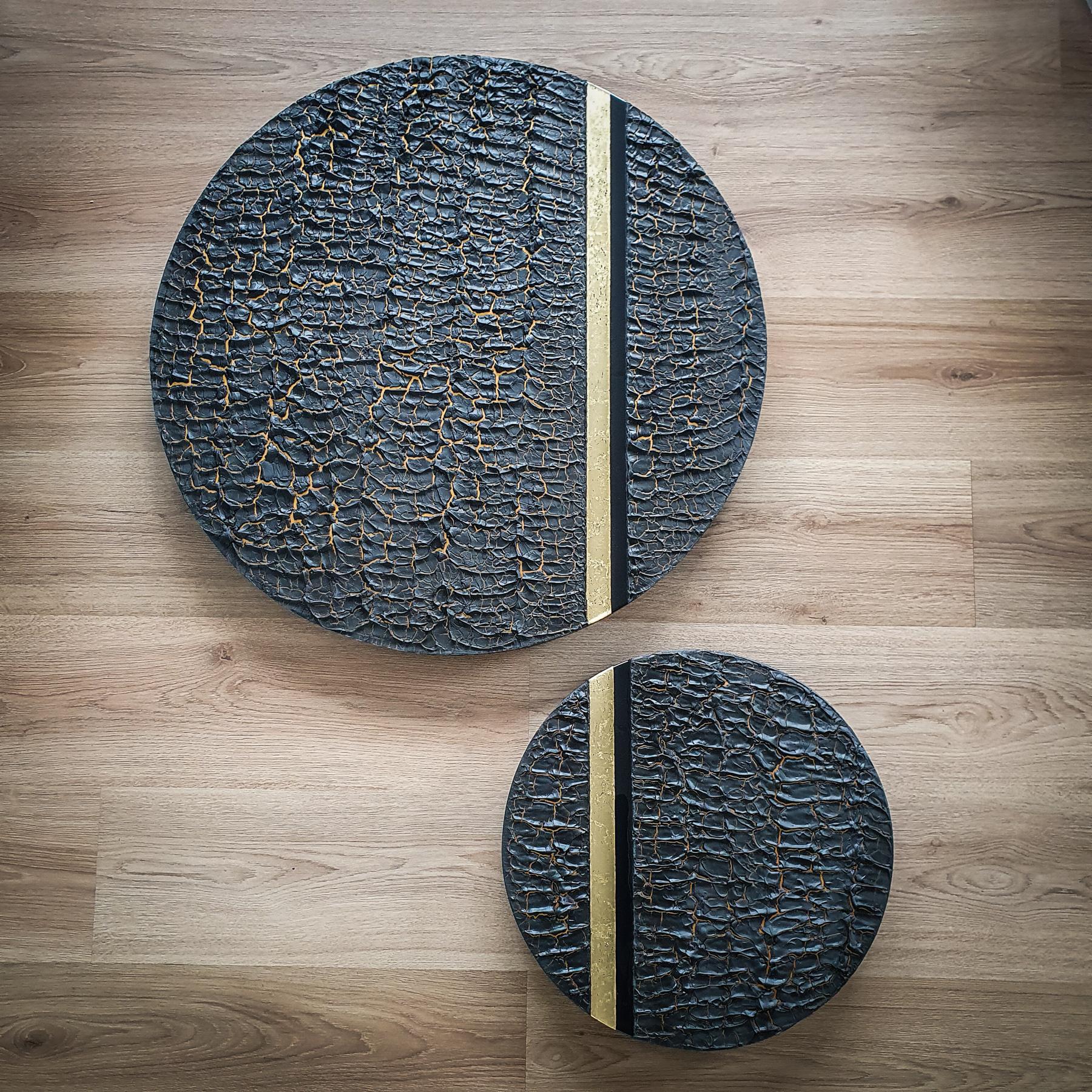 Kunst: Phoenix (set van 2) van kunstenaar Marlies Geldof