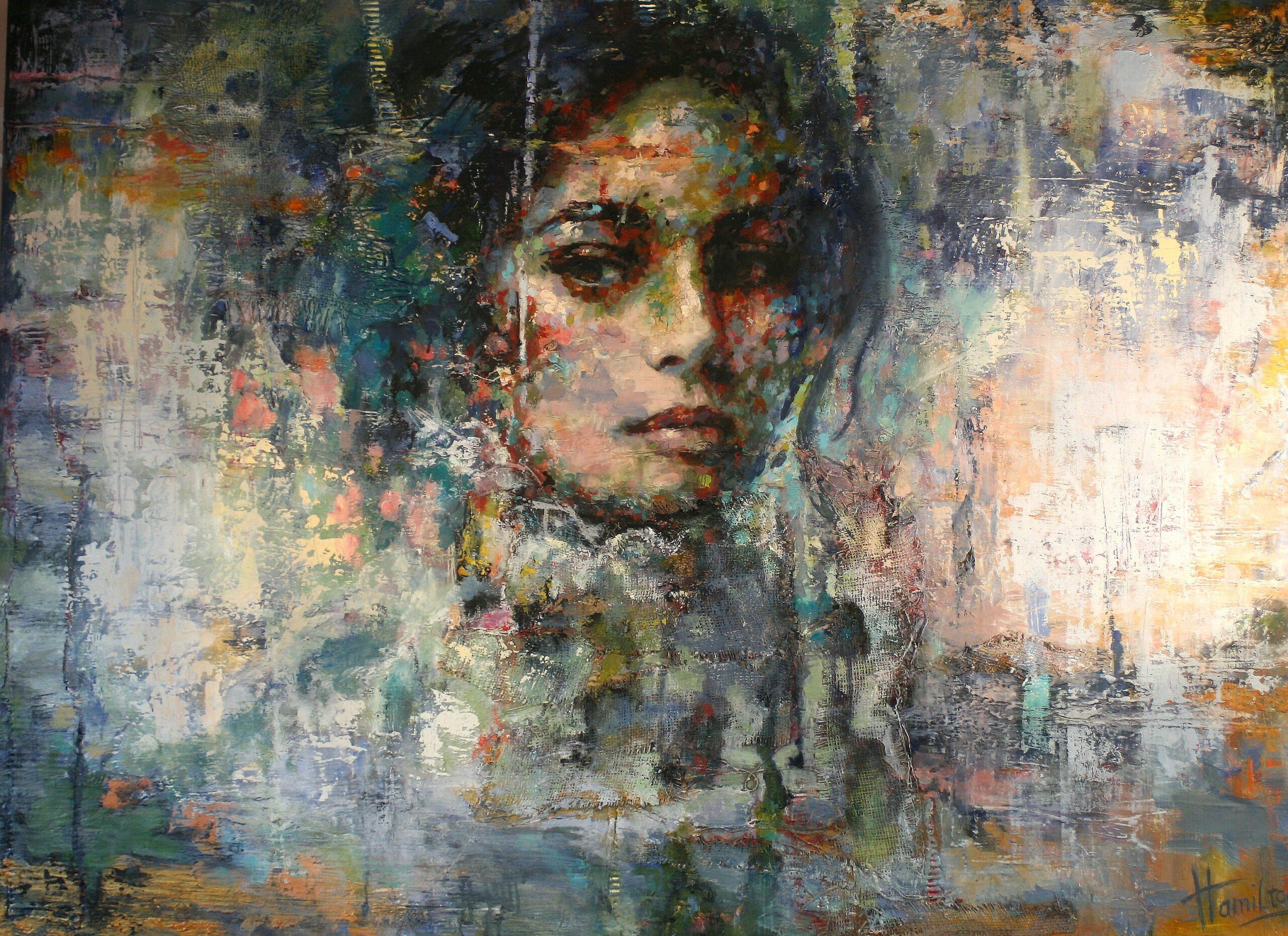 Kunst: Suspicious Mind van kunstenaar Evelyn Hamilton