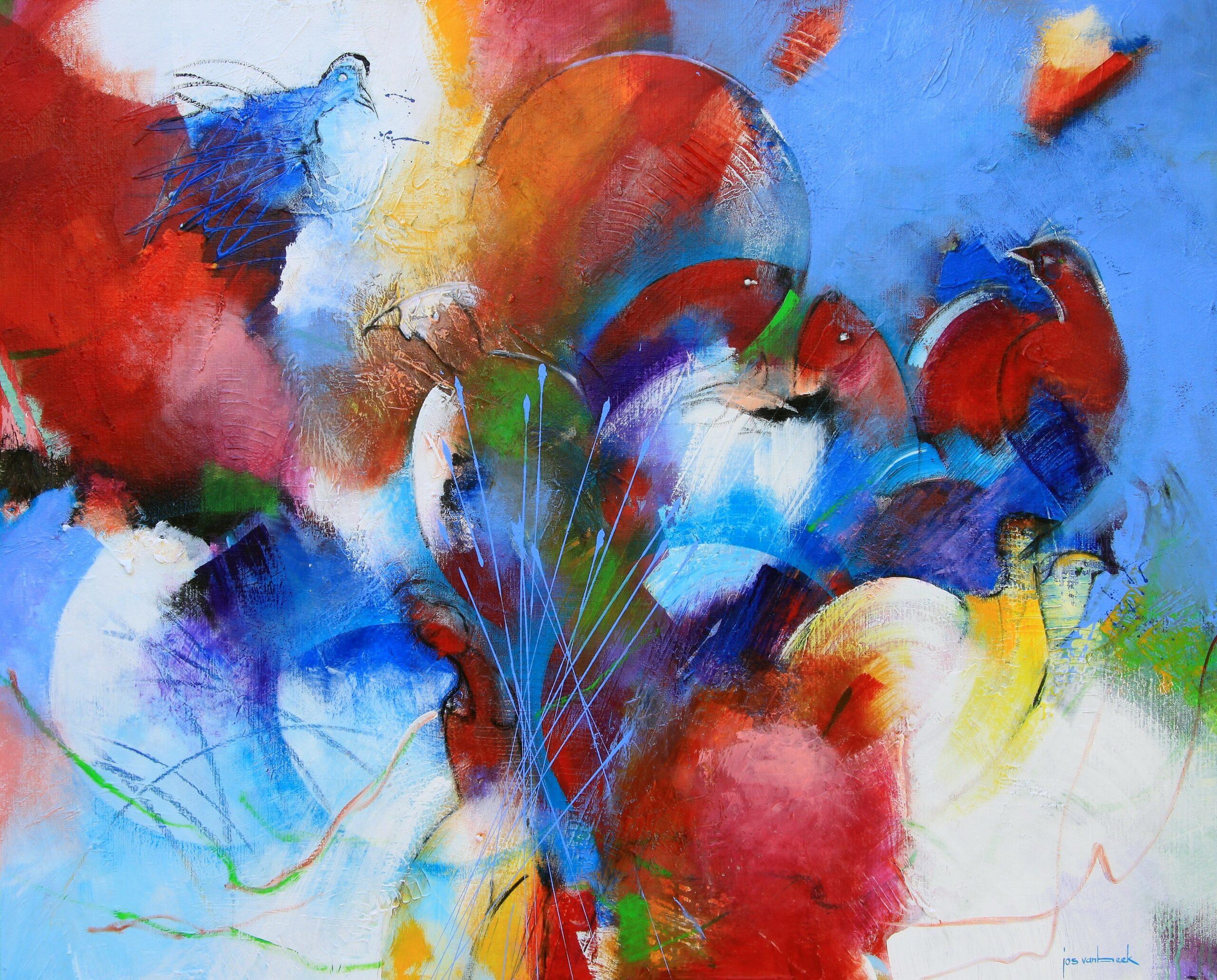 Kunst: 20-19 Er is plaats voor iedereen van kunstenaar Jos van Beek