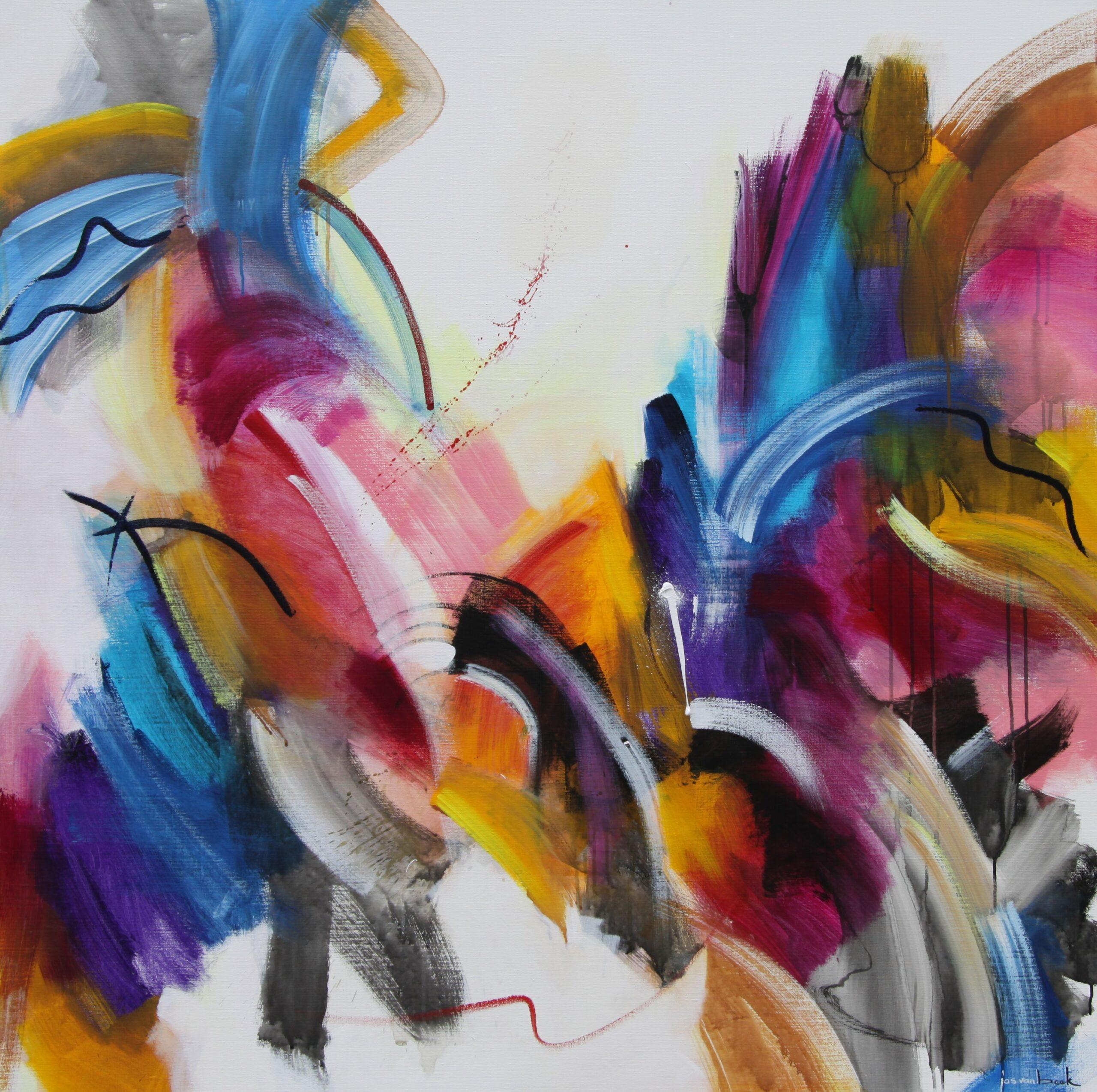 Kunst: 2031 Basis van ontluiken van kunstenaar Jos van Beek