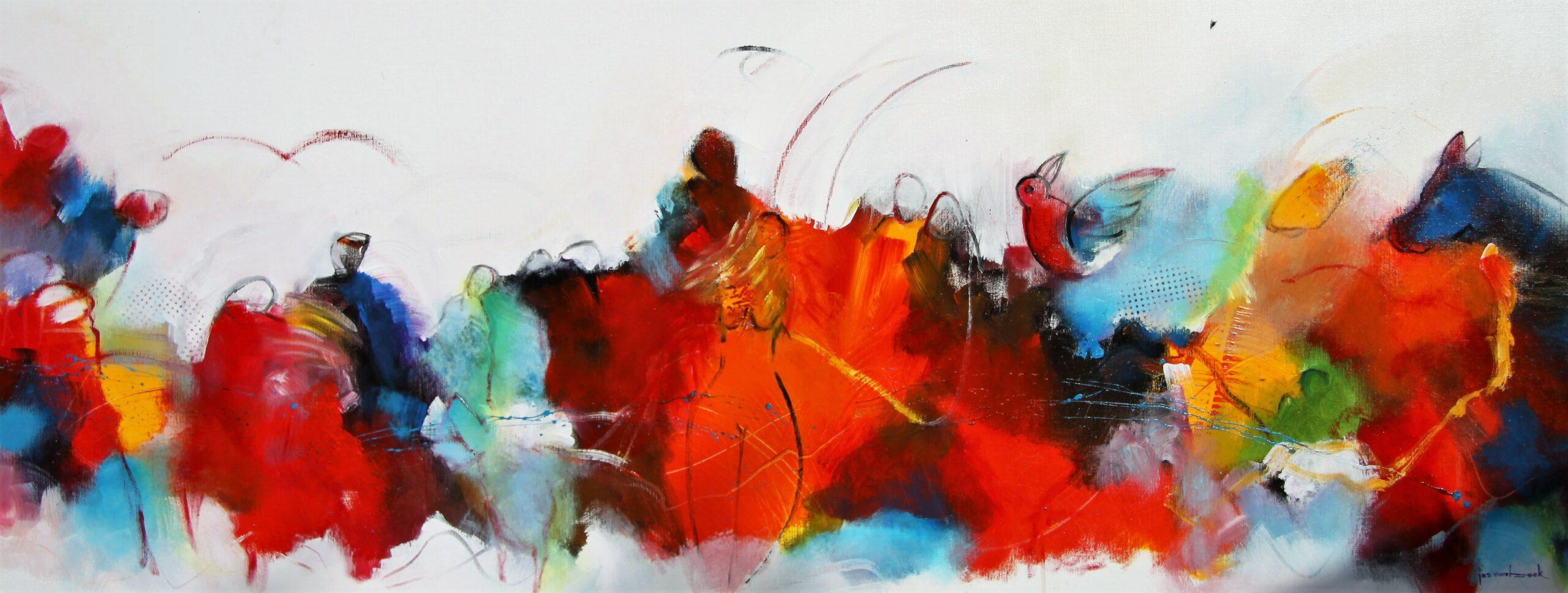 Kunst: 2123 Naar een hoogtepunt van kunstenaar Jos van Beek