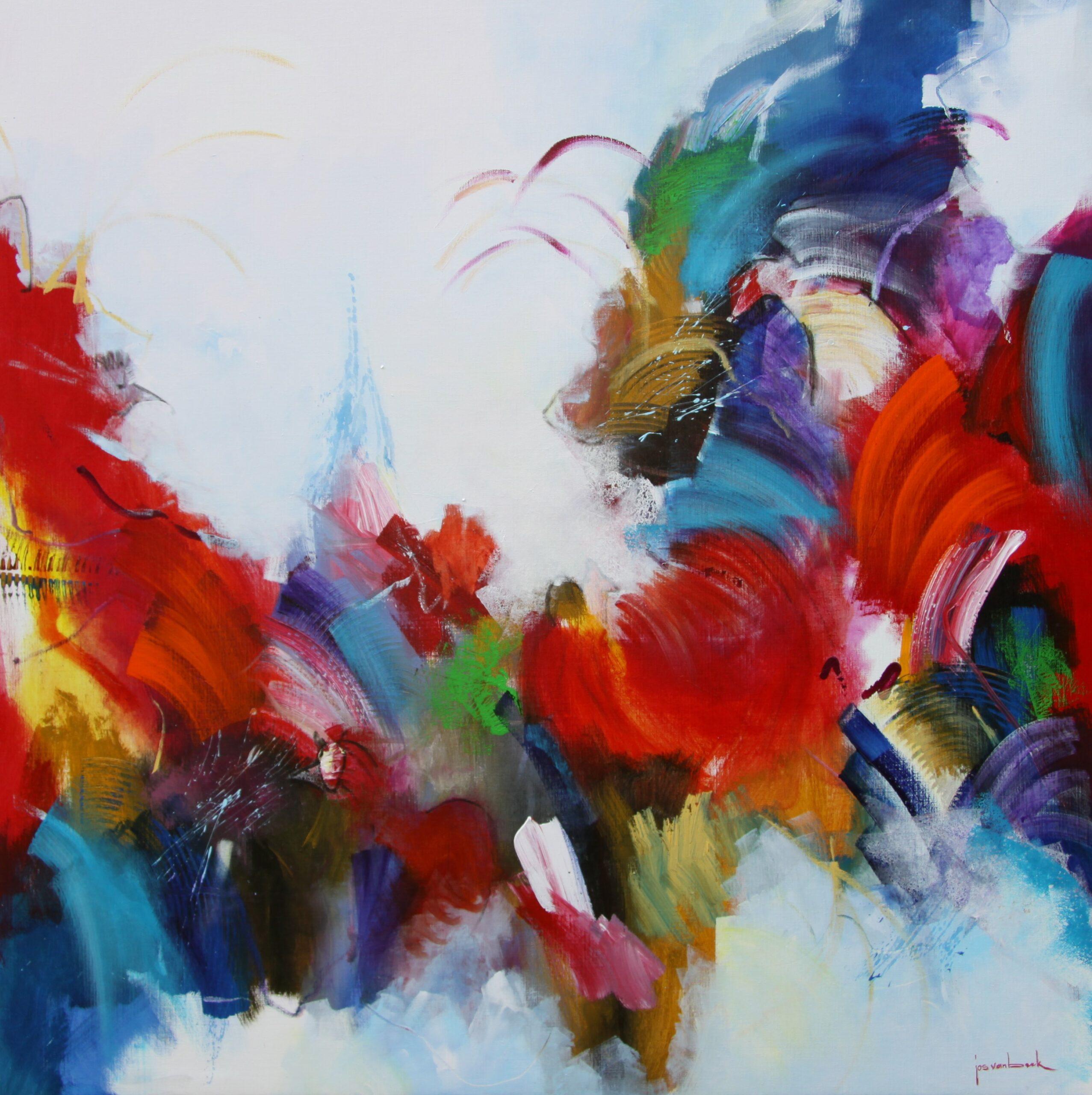 Kunst: 2125 Groeperen rond het midden van kunstenaar Jos van Beek