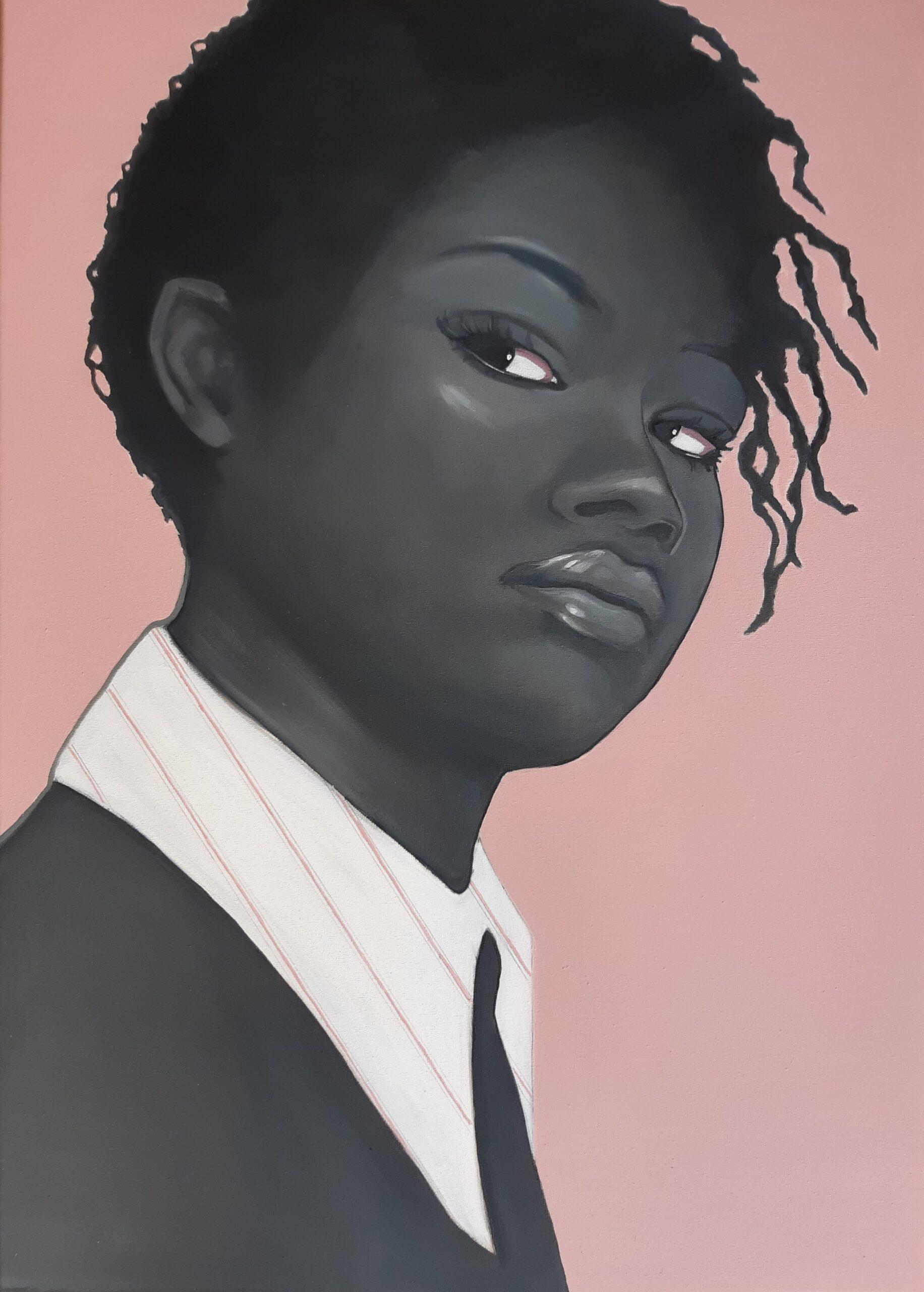 Kunst: Black lives matter van kunstenaar Jeanette van Dun