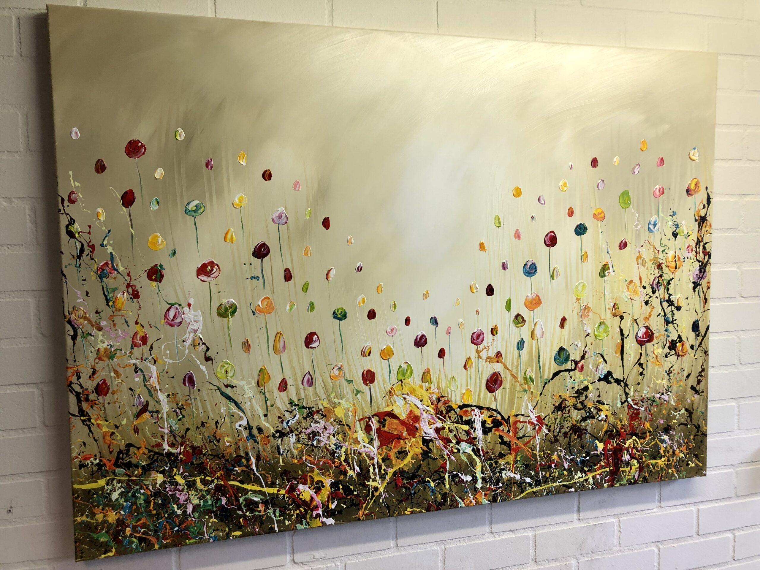Kunst: Floral splendor II van kunstenaar Gena n Gena